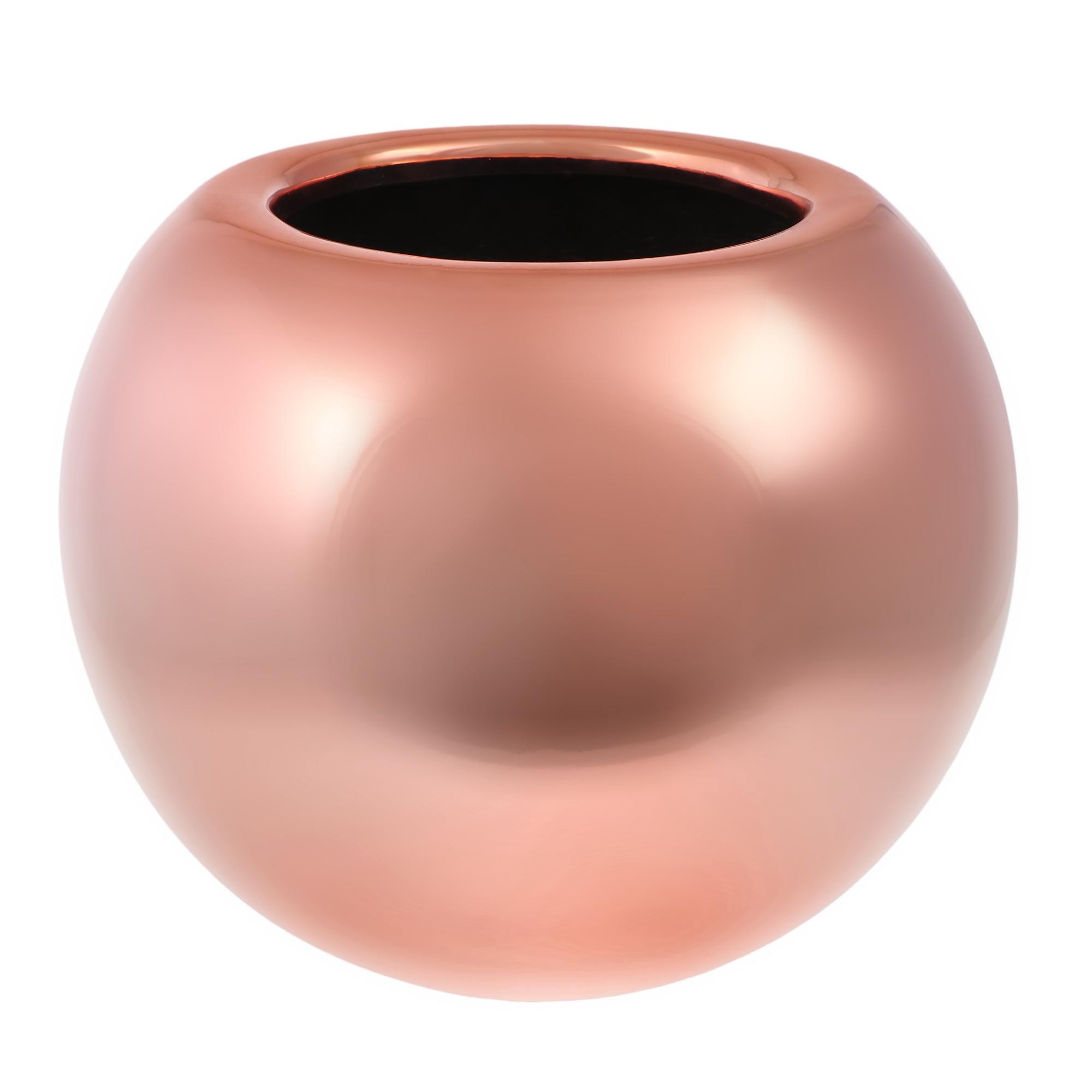 Кашпо Pottery Pots Beth 25х20,5 см розовая платина