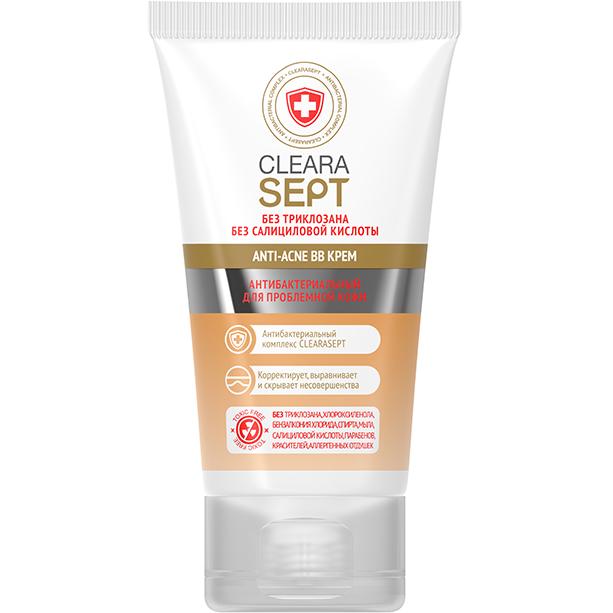 ВВ крем ClearaSept Anti-Acne Антибактериальный для проблемной кожи 40 мл фото