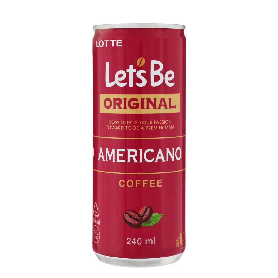Кофейный напиток Lotte Let's Be Американо 240 мл