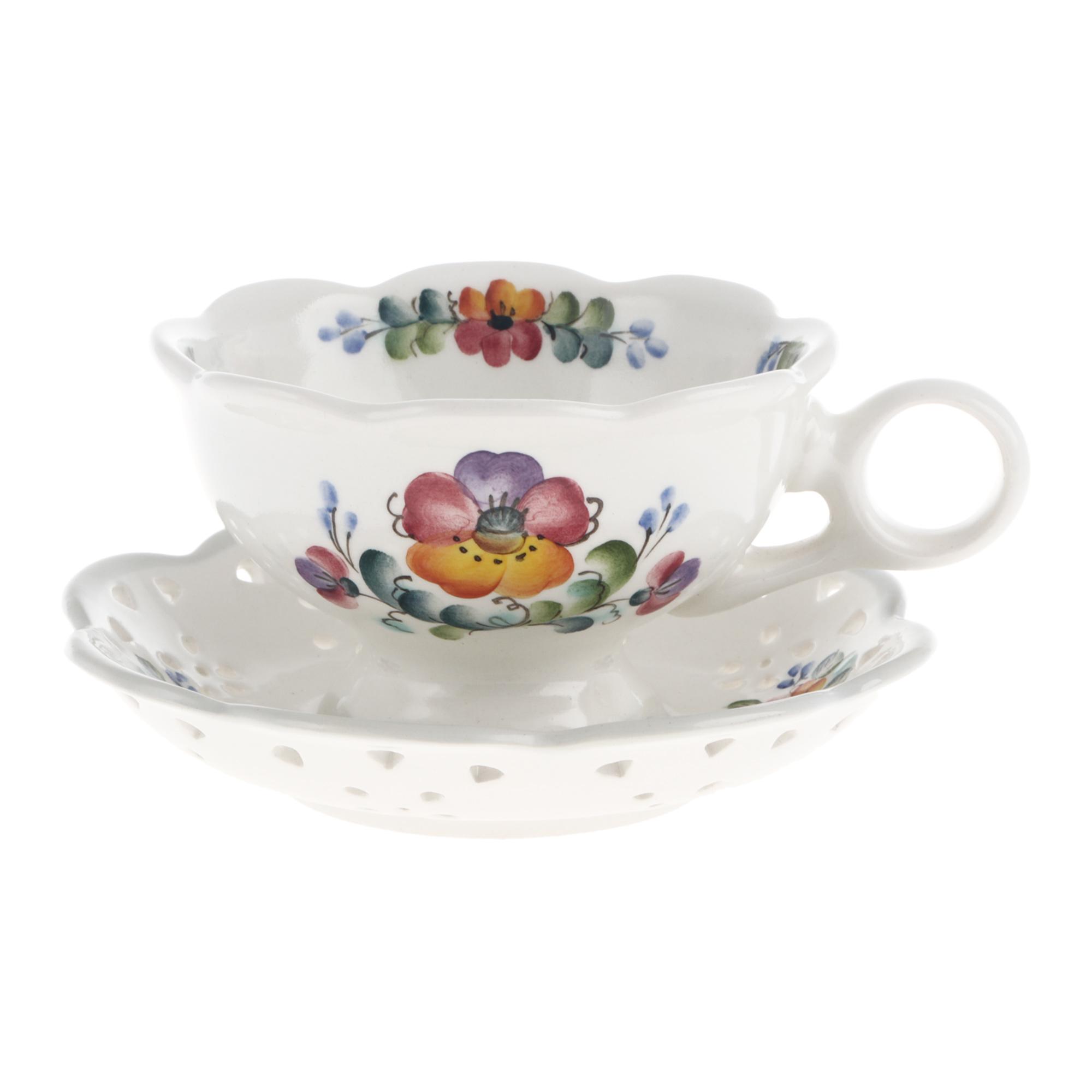 Фото - Чайная пара Семикаракорская керамика 250 мл чайная пара mercury 150 мл керамика