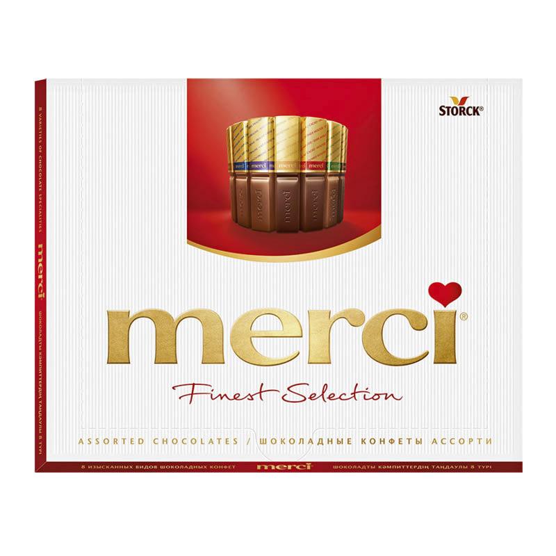 Фото - Набор шоколадных конфет Merci Ассорти 8 видов 200 г набор конфет merci ассорти 400 г