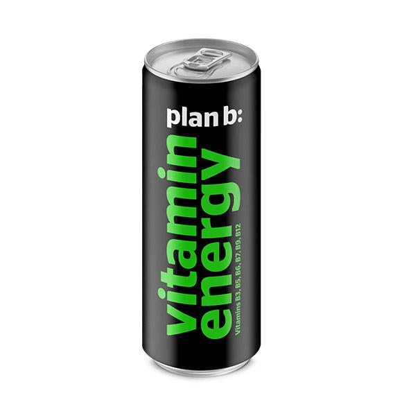 Напиток энергетический Plan B Витаминная энергия 250 мл