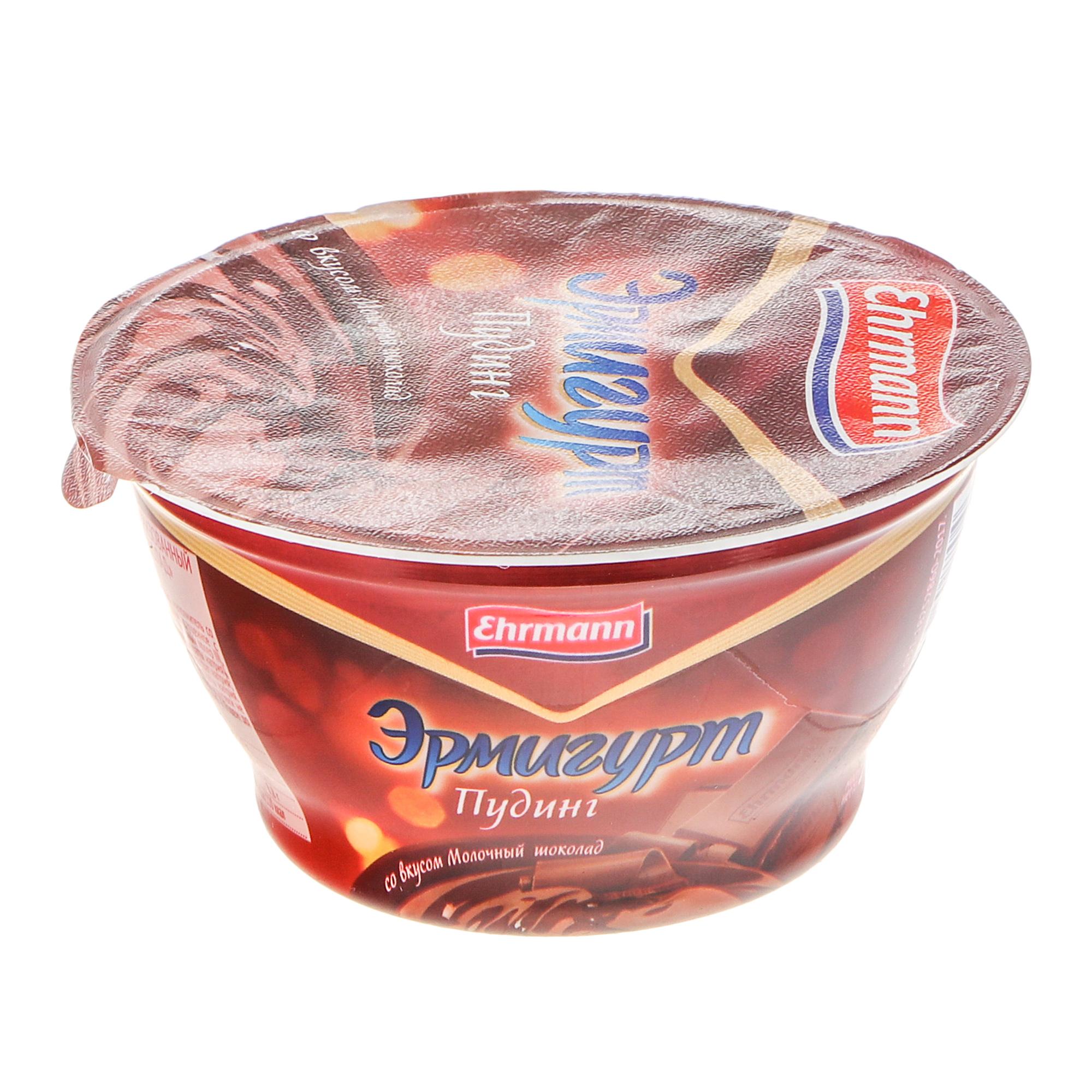 Пудинг Ehrmann Эрмигурт Молочный шоколад 3,4% 140 г