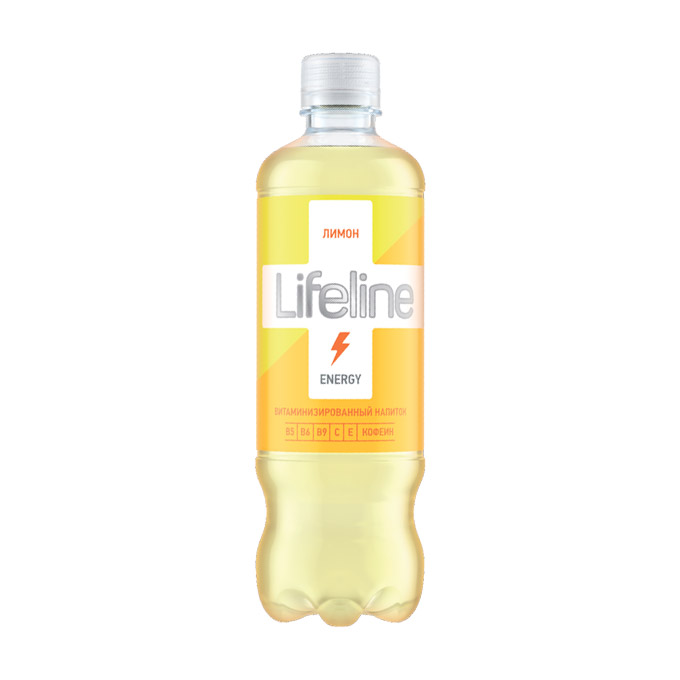 Напиток Lifeline Energy лимон 0,5 л