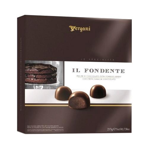Шоколадные конфеты Vergani Il Fondente 215 г