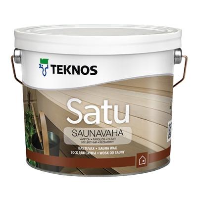 Воск для сауны Teknos Satu saunavaha 2,7 л