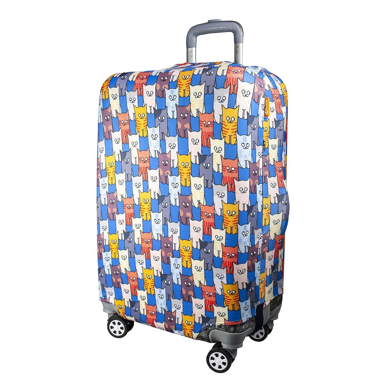 Чехол для чемодана Routemark Шкодастрофа S чехол для чемодана routemark искры и блестки art lebedev sp310 s фиолетовый