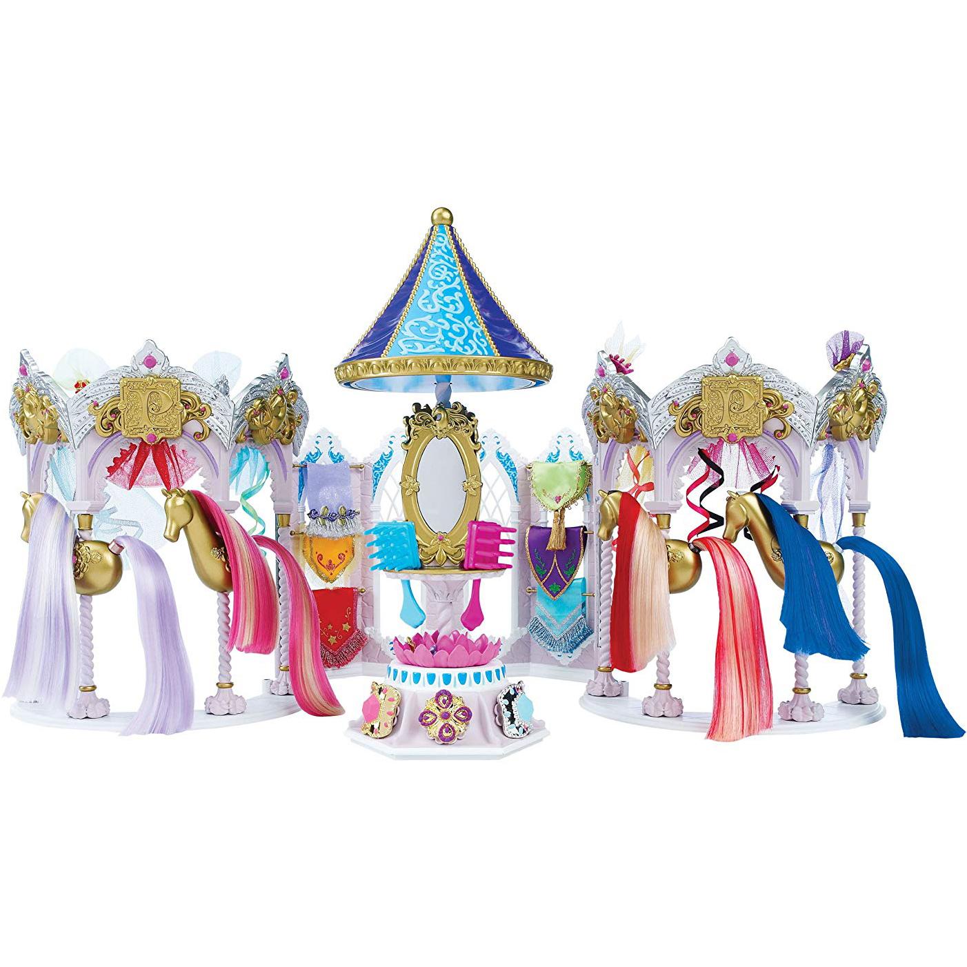 Игровой набор Pony Royale Волшебная карусель и пони Принцесса Радуга фото