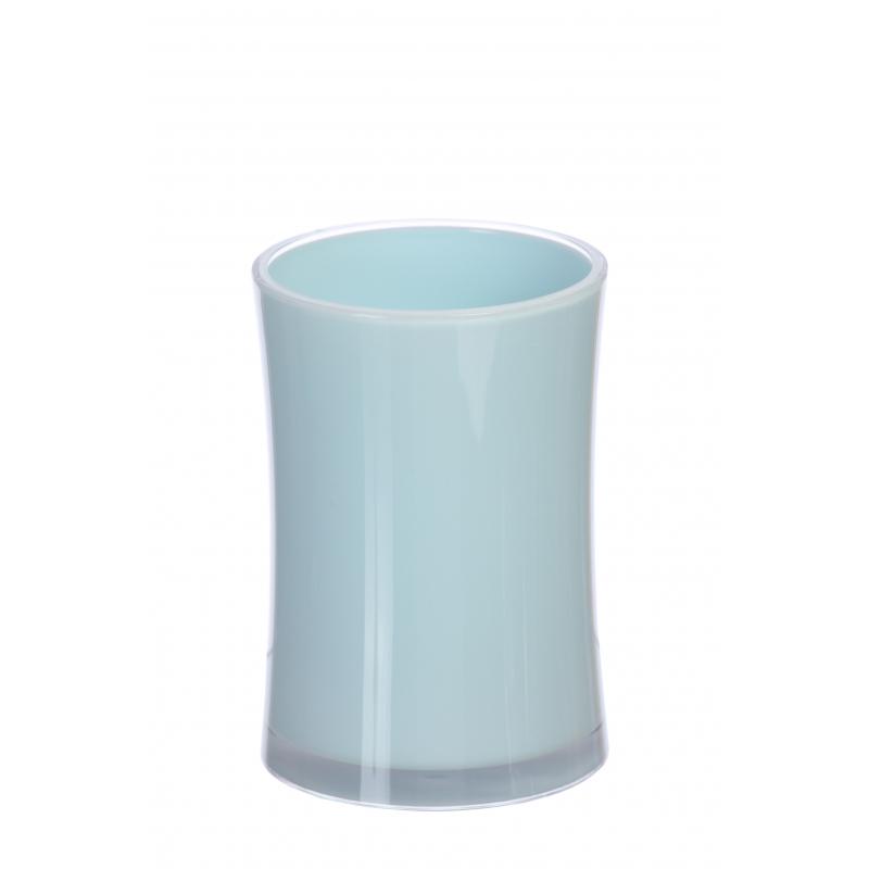 Стакан универсальный Vanstore Acrilica голубой 7,2х10,5 см полка vanstore classic 071 00
