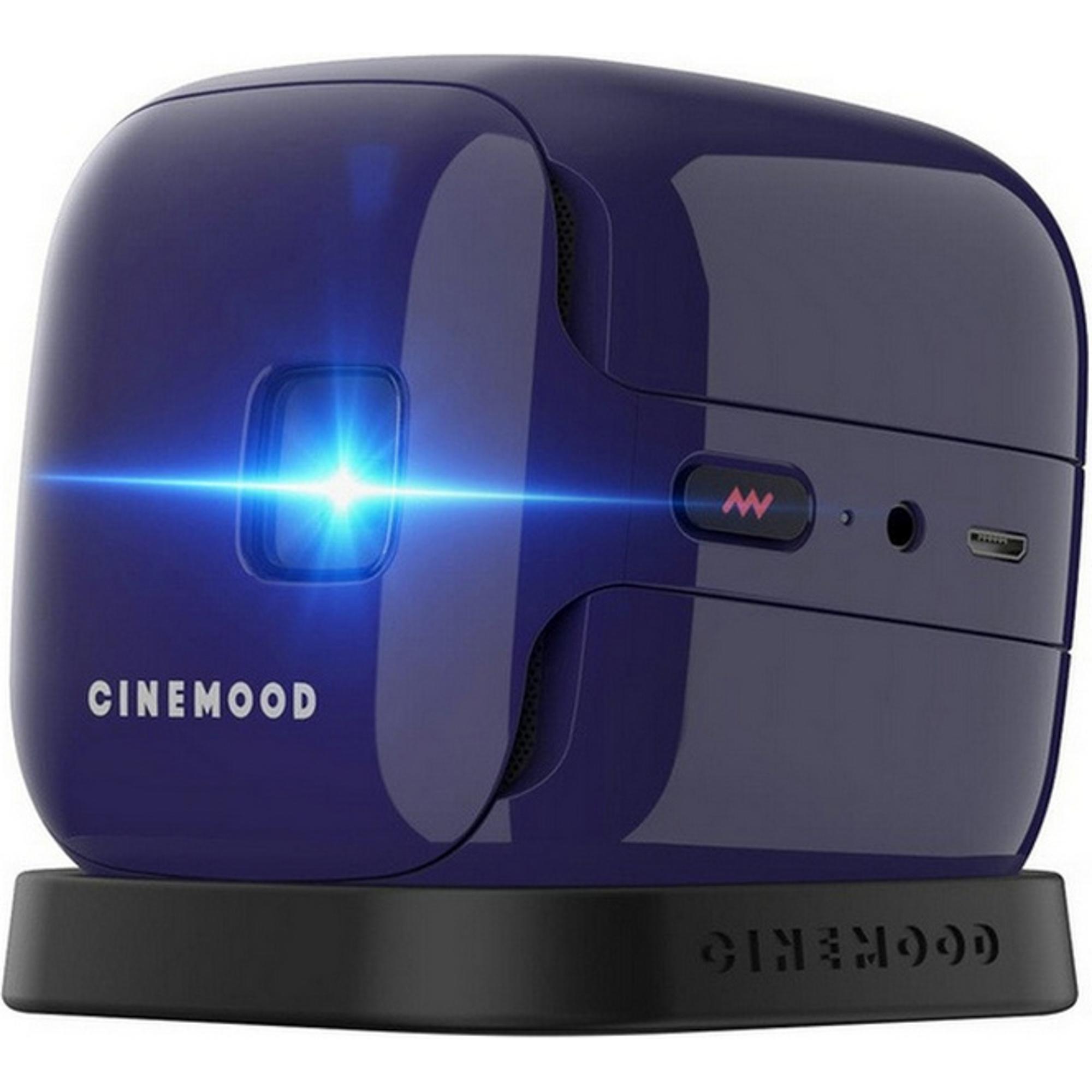Портативный проектор CINEMOOD Кинокубик ivi фото