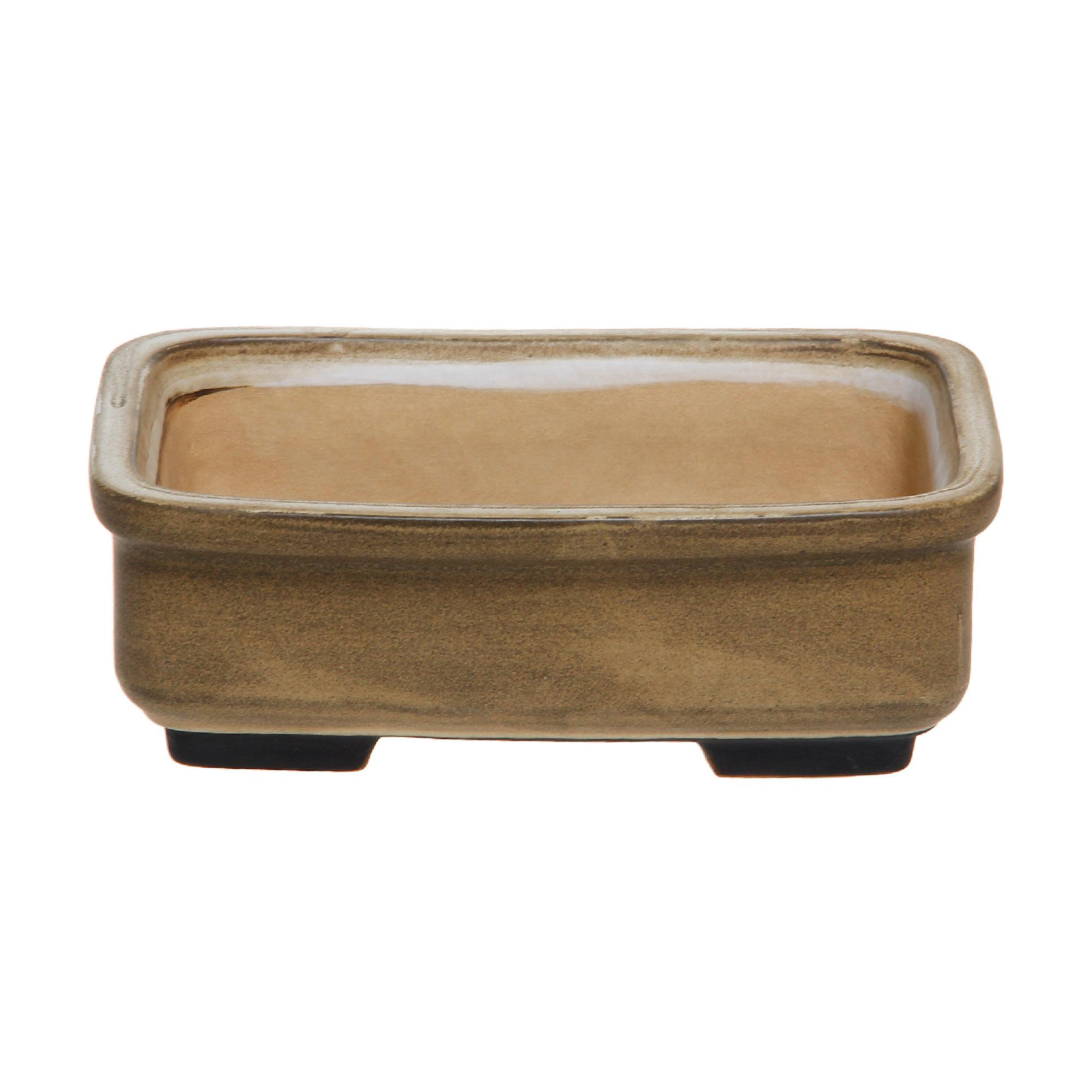 Кашпо Lodder ceram glazed rectangle №6 21x17x7 см