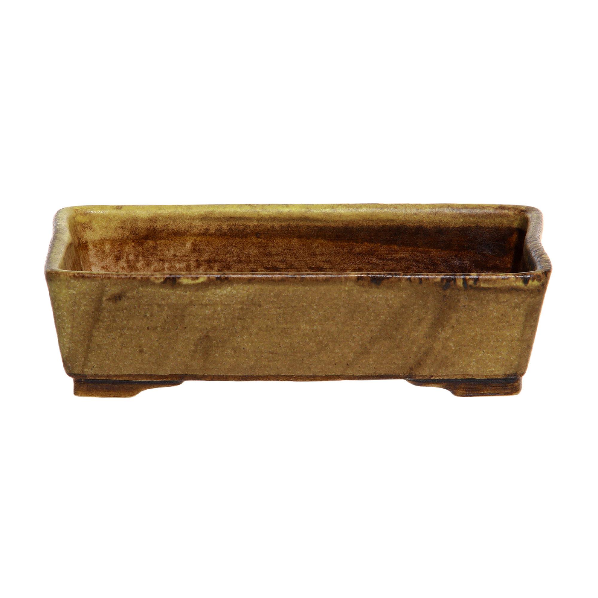 Кашпо Lodder ceram glazed rectangle №10 17x12x4 см