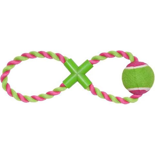 Игрушка для собак CHOMPER Puppy Теннисный мяч на канате игрушка для собак chomper puppy канат в ассортименте
