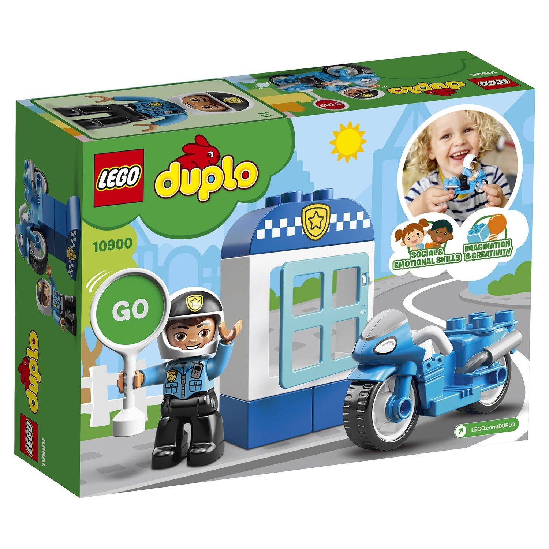 Фото - Конструктор Lego Duplo Полицейский мотоцикл 10900 конструктор lego duplo моя первая минни 10897