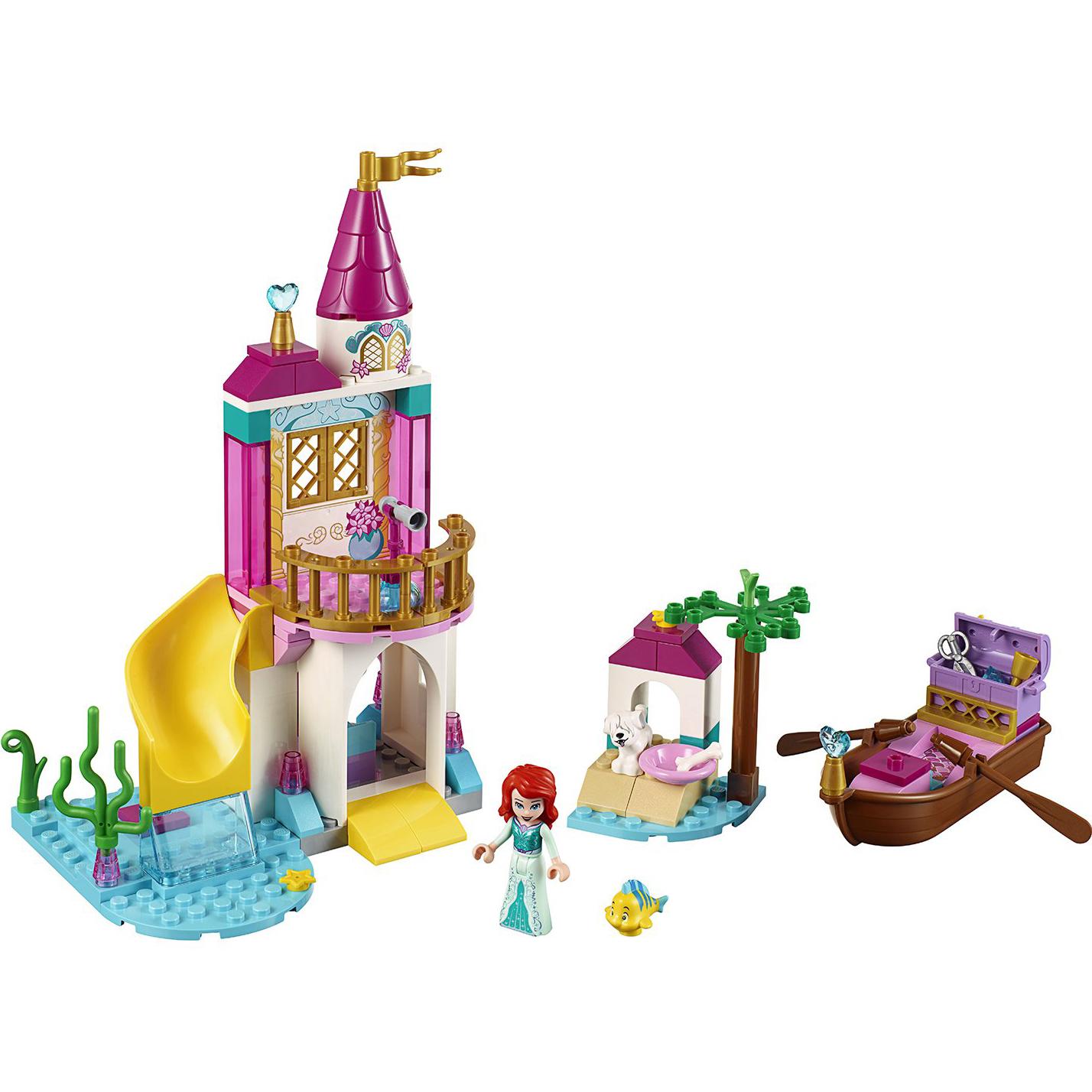 Купить Конструктор Lego Disney Princess Морской замок Ариэль 41160, пластик, для девочек, Конструкторы, пазлы