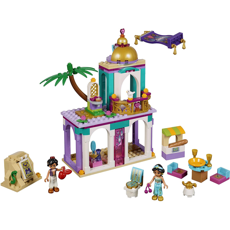 Конструктор Lego Disney Princess Приключения Аладдина и Жасмин во дворце 41161 фото