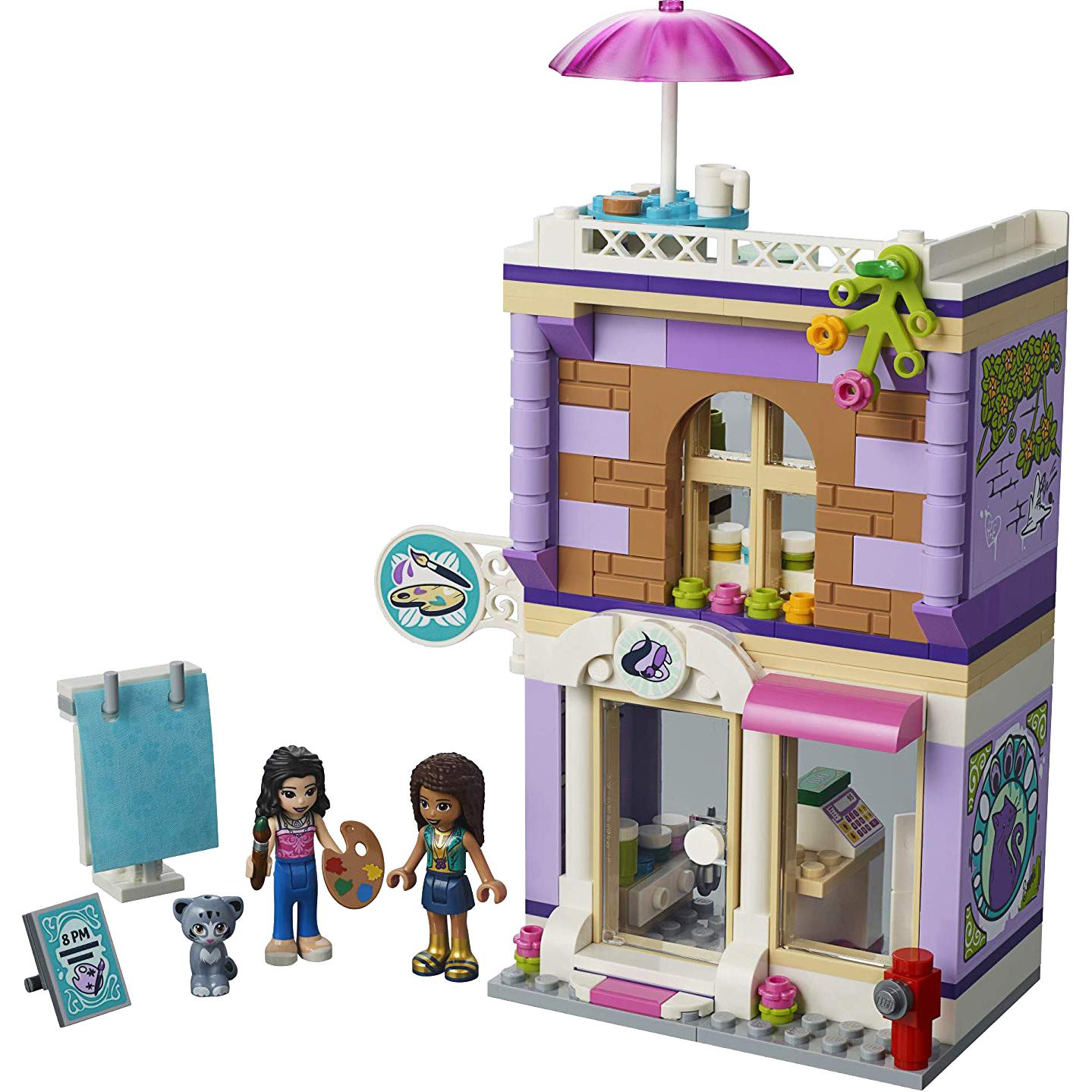 Купить Конструктор Lego Friends Художественная студия Эммы 41365, пластик, для девочек, Конструкторы, пазлы