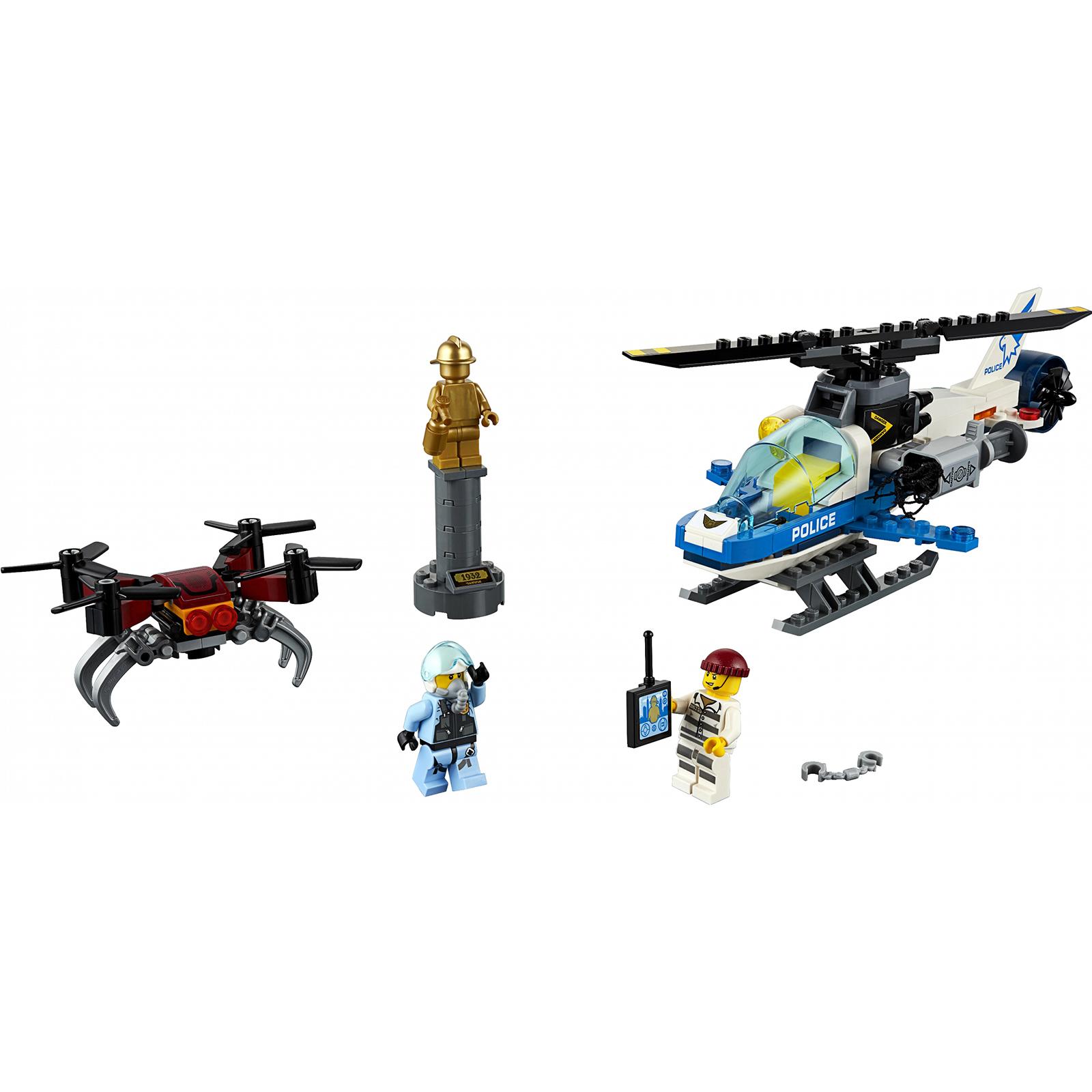 Купить Конструктор Lego City Воздушная полиция: Погоня дронов 60207, пластик, для мальчиков, Конструкторы, пазлы