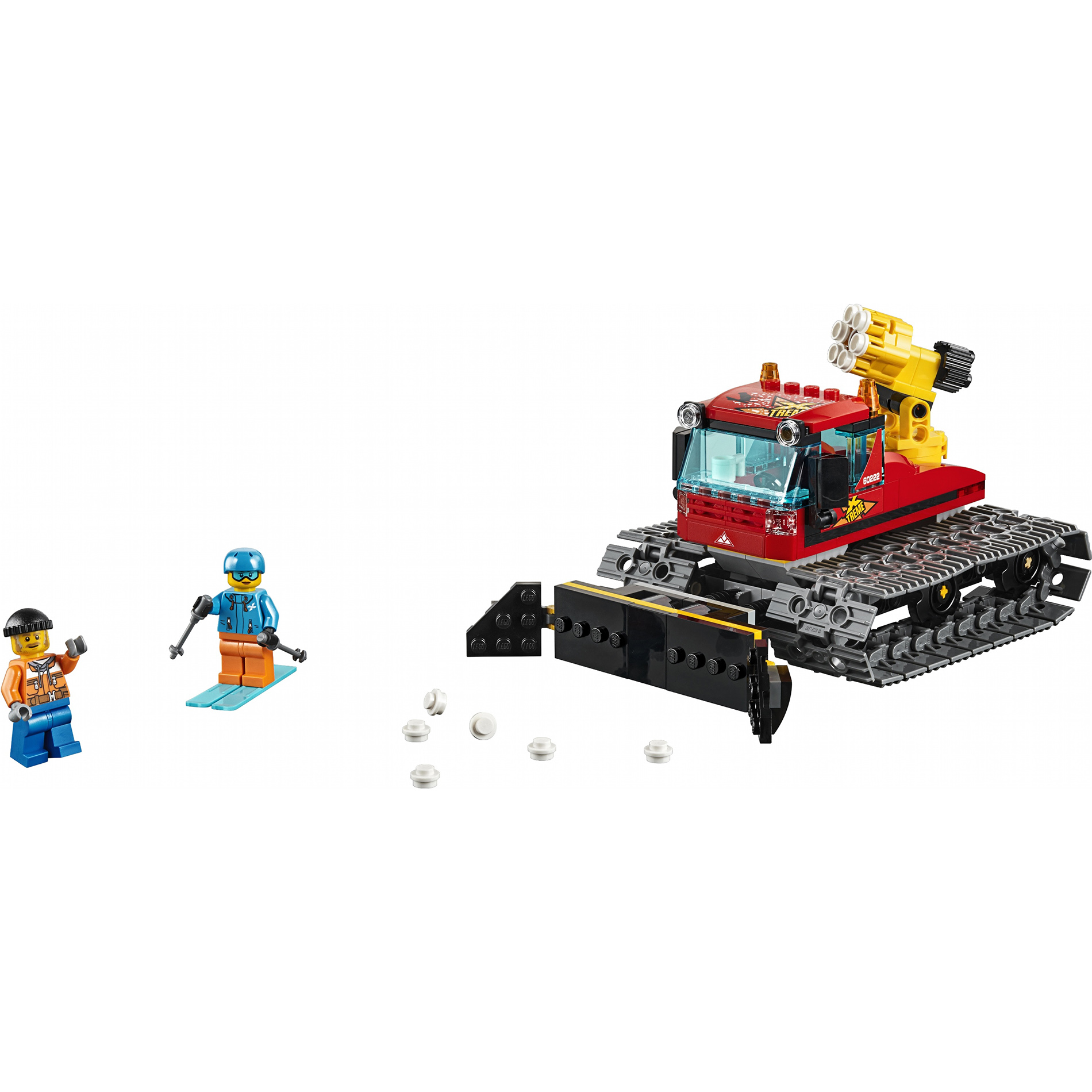 Купить Конструктор Lego City Транспорт: Снегоуборочная машина 60222, пластик, для мальчиков, Конструкторы, пазлы