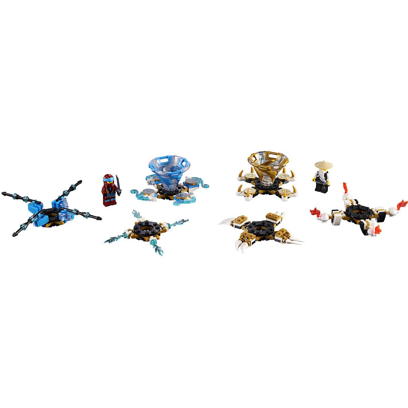 Купить Конструктор Lego Ninjago Ния и Ву: мастера Кружитцу 70663, пластик, для мальчиков, Конструкторы, пазлы