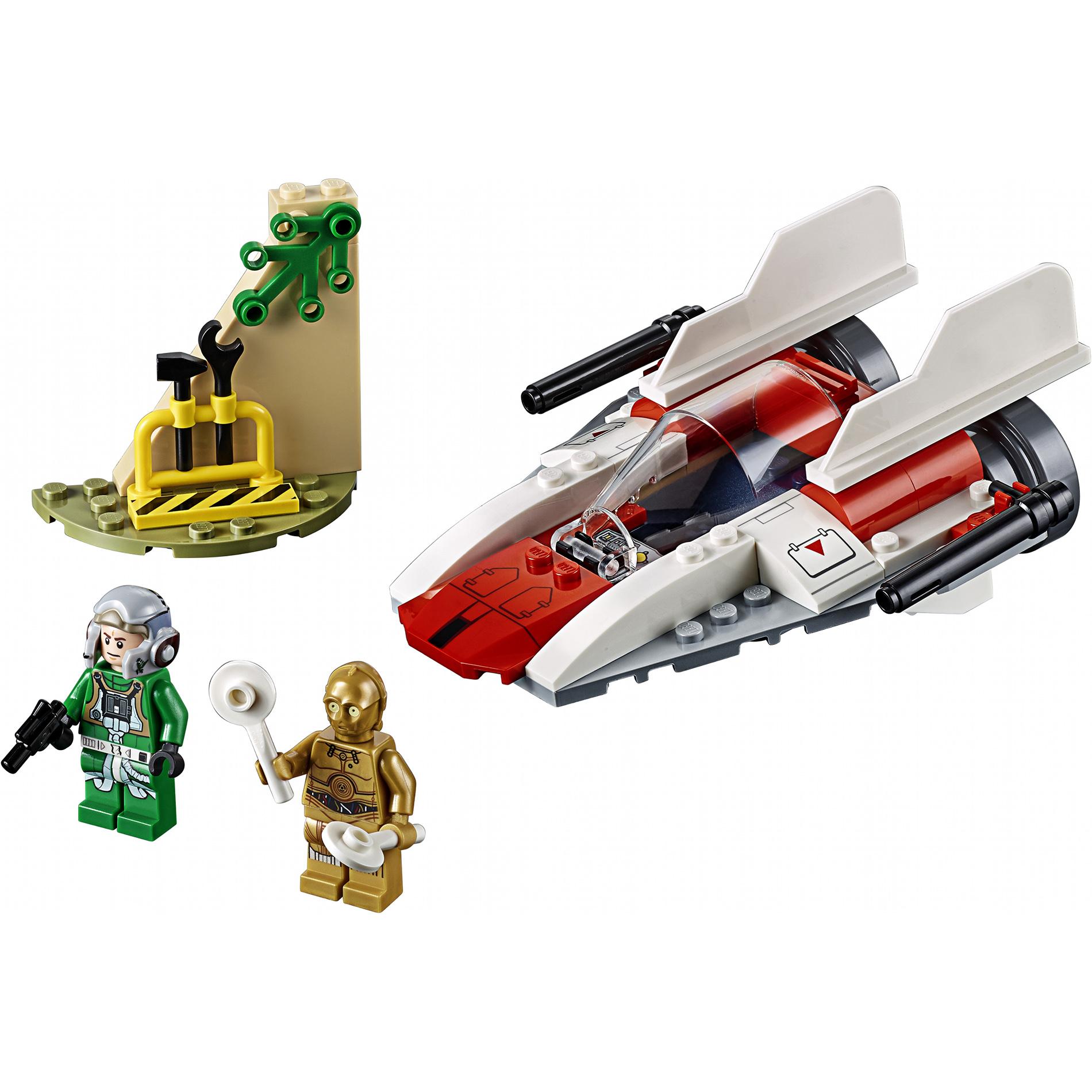 Купить Конструктор Lego Star Wars Звездный истребитель типа А 75247, пластик, для мальчиков, Конструкторы, пазлы