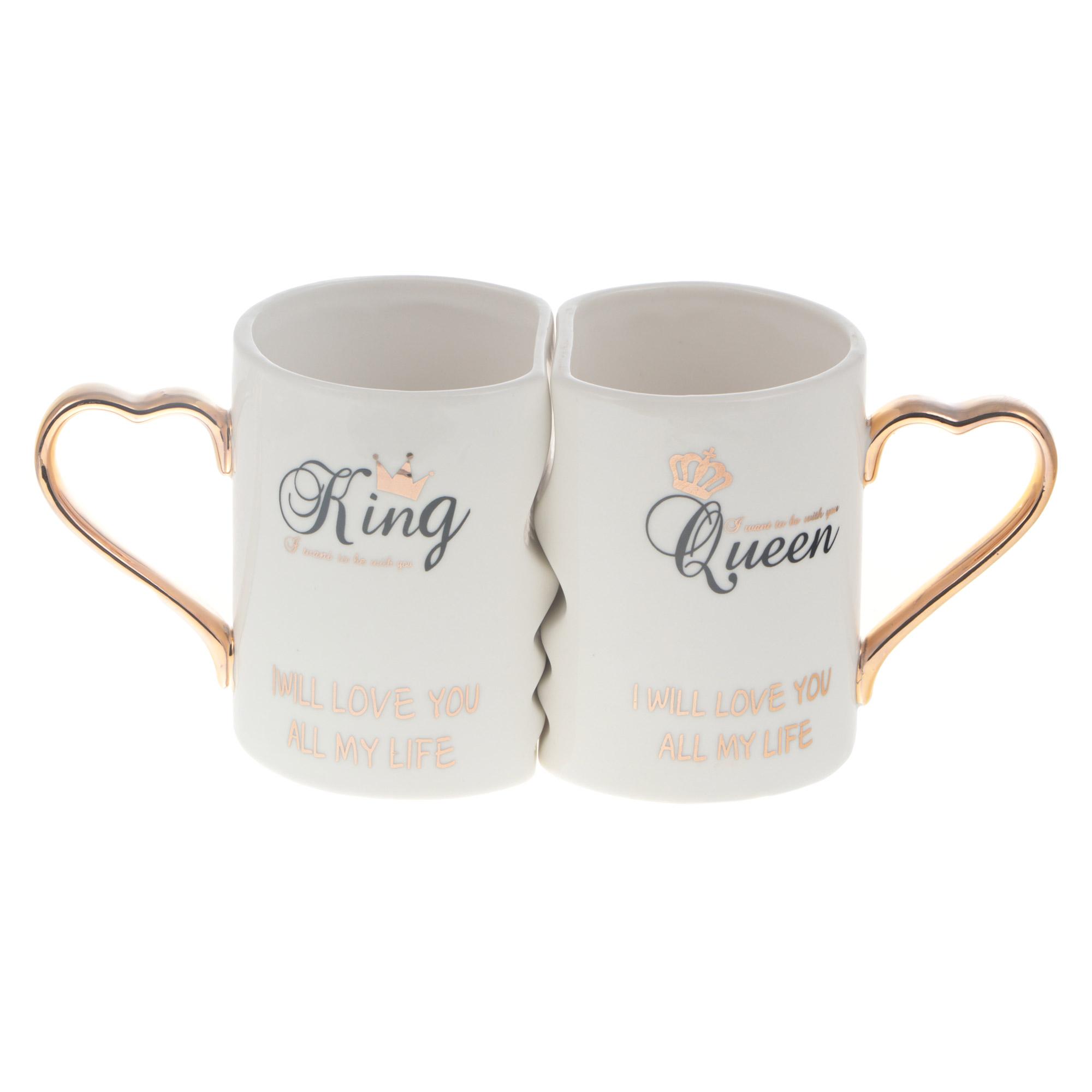 Набор 2х кружек Eco cup king+queen 325мл