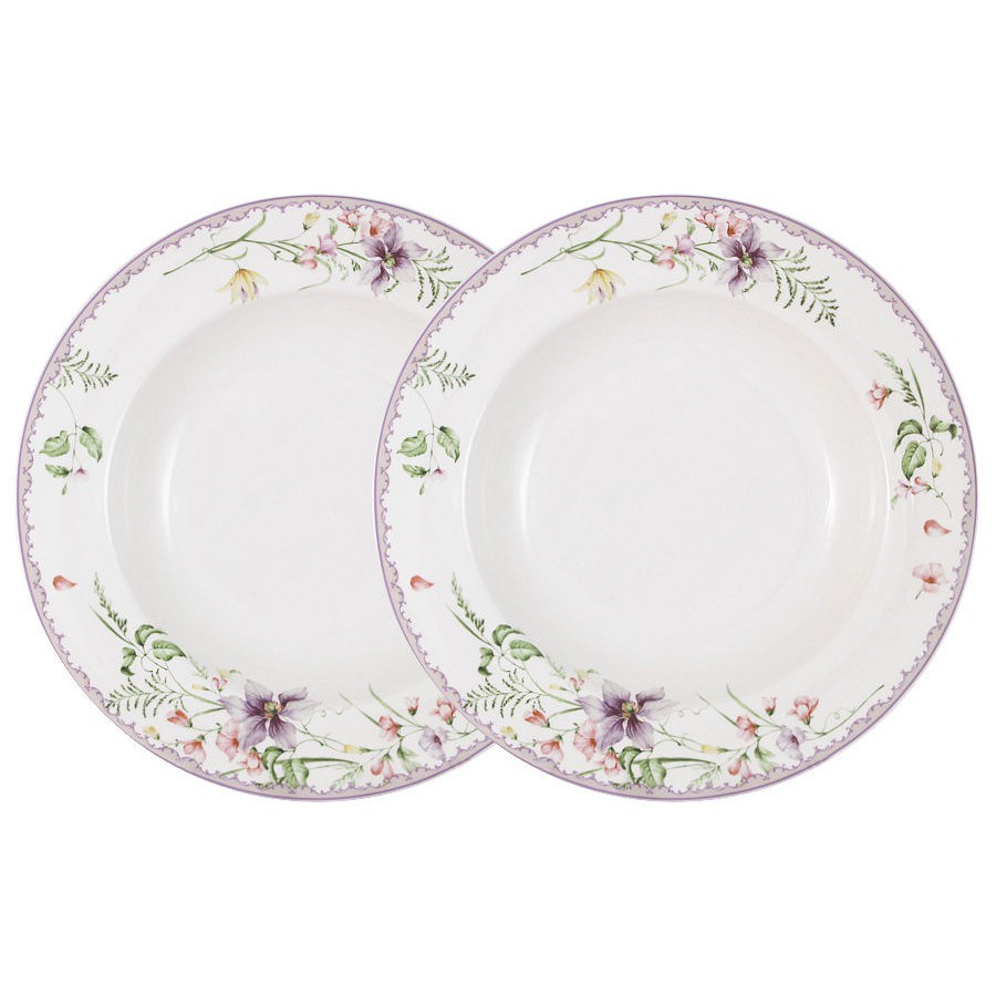 Набор из 2-х суповых тарелок Anna Lafarg Селена 23 см фото