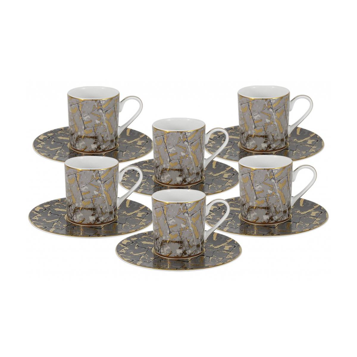 Набор кофейный Naoimi из 12 предметов Злата фото