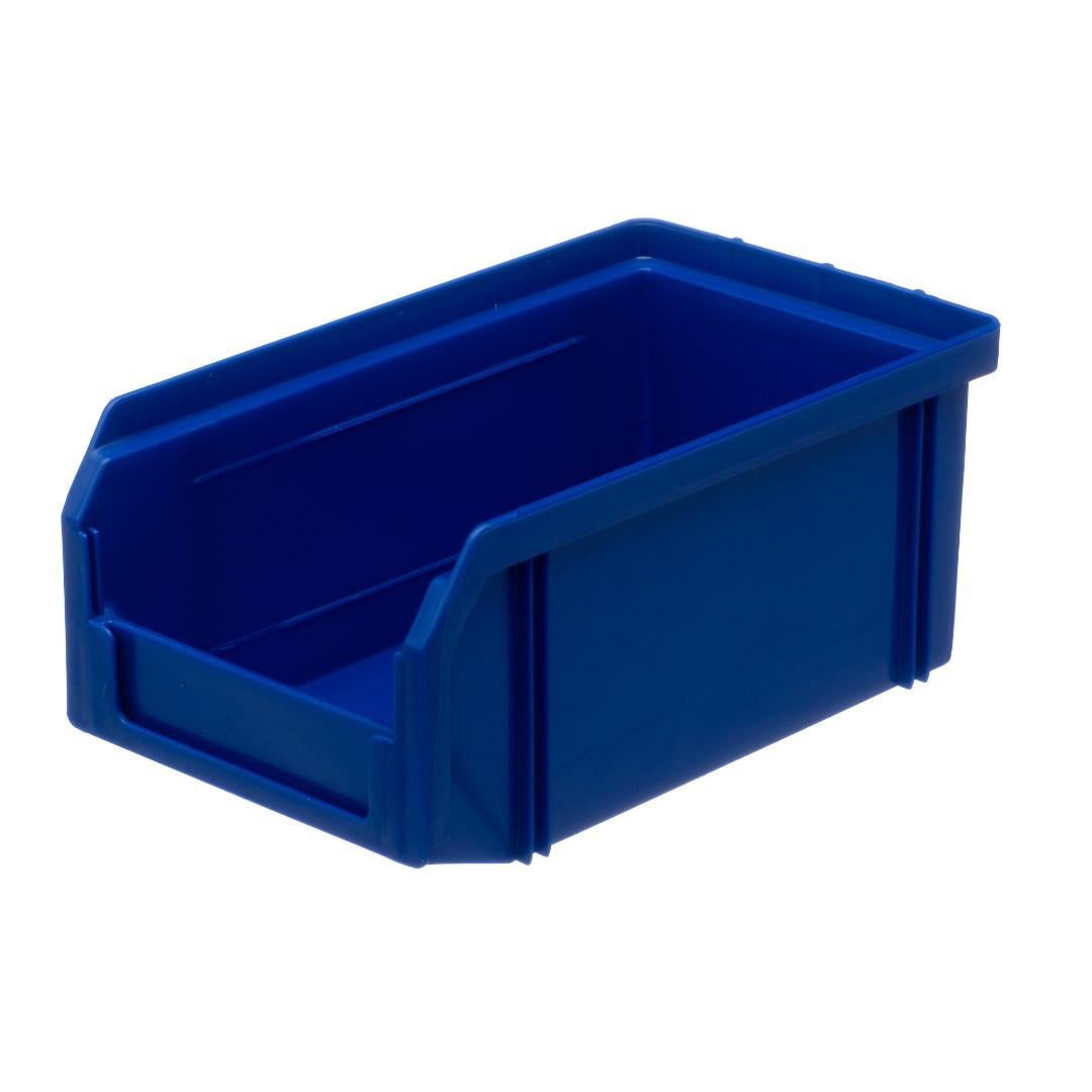Пластиковый ящик Стелла v-1 (1 литр), синий