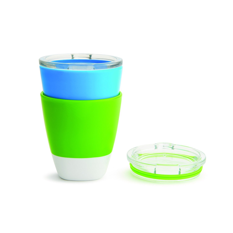 Munchkin набор цветных стаканчиков 2 шт 18+ Голубой Зеленый
