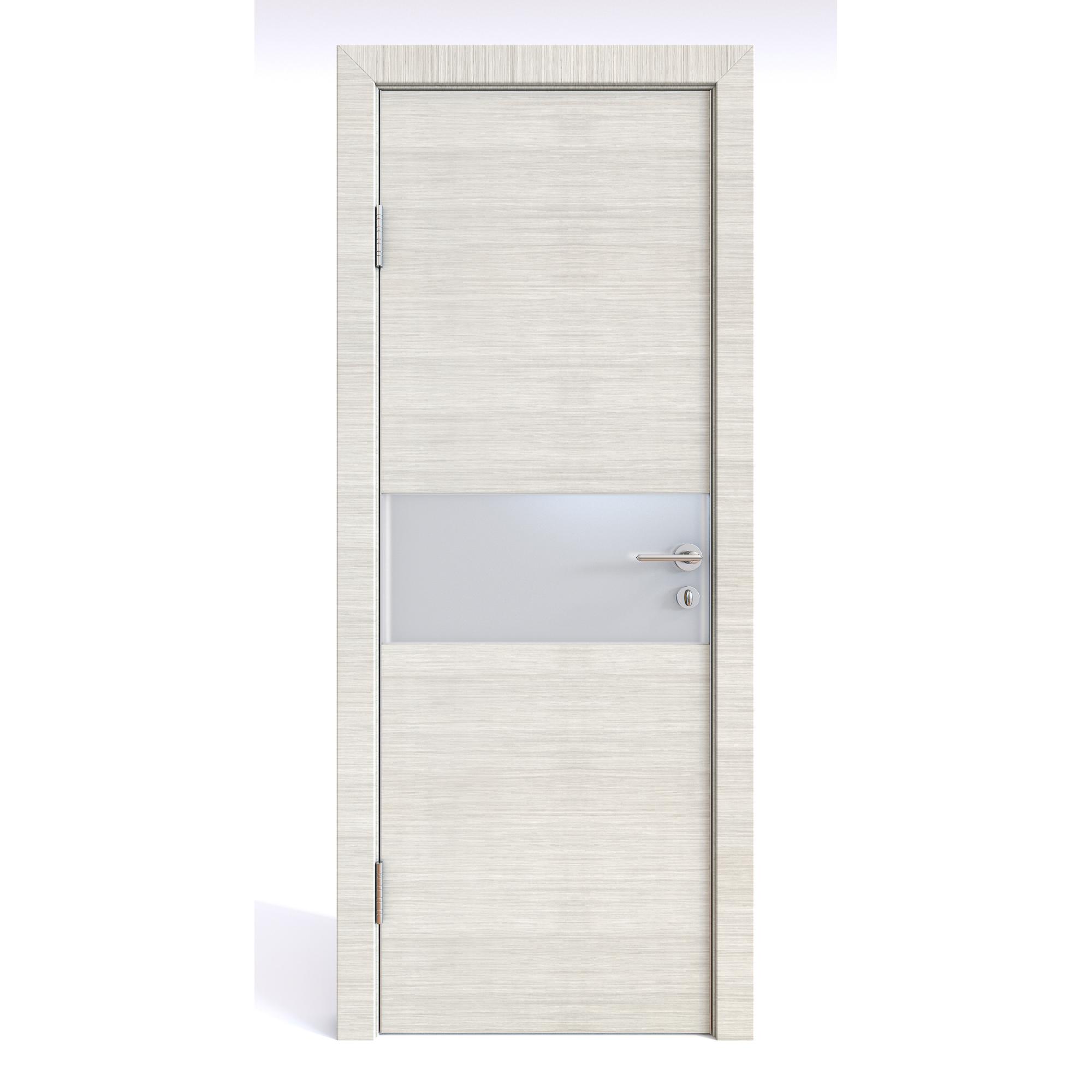 Межкомнатная дверь ДО-501/2 Ива светлая/белое 200х80 Дверная Линия фото
