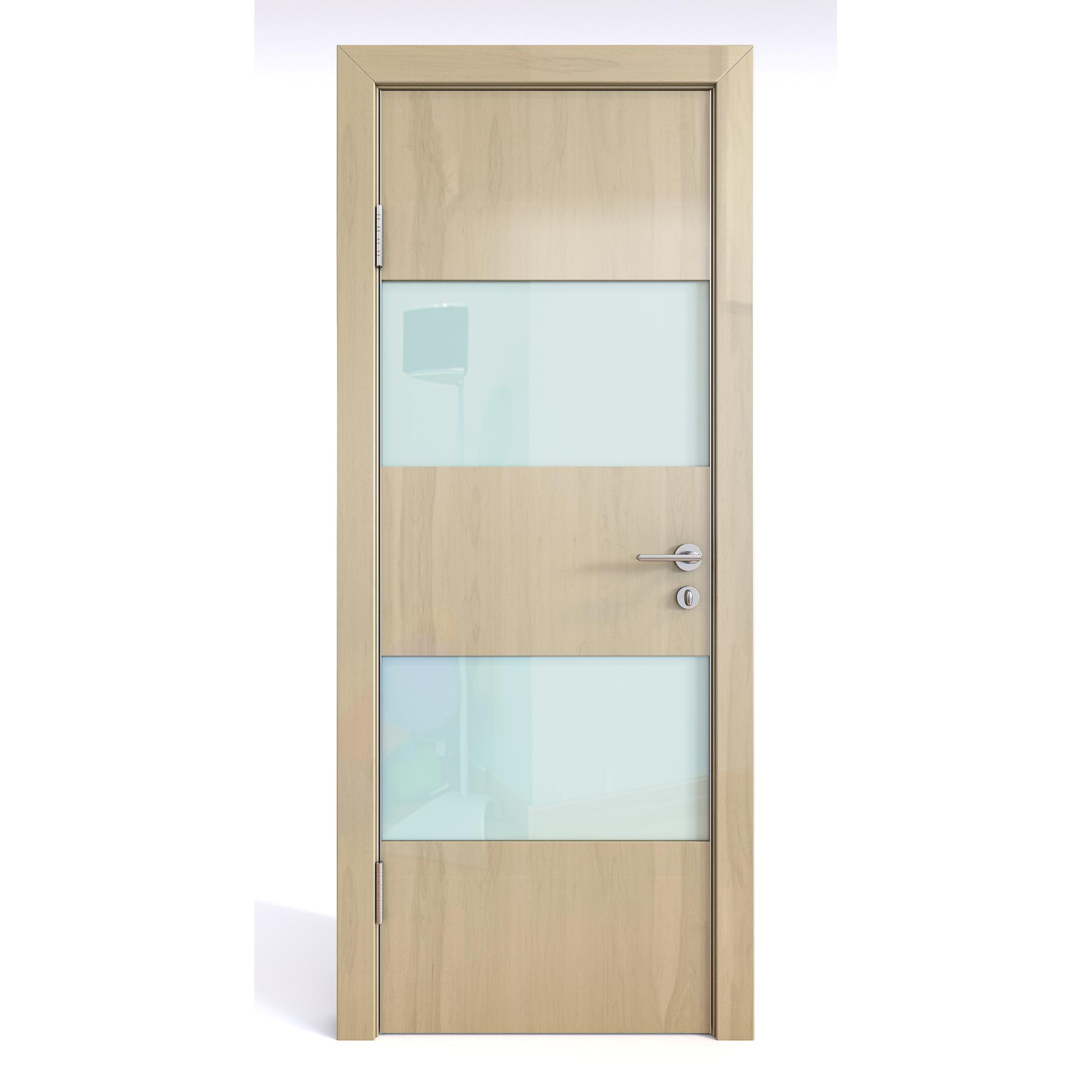 Межкомнатная дверь ДО-508/2 Анегри светлый глянец/белое 200х90 Дверная Линия фото