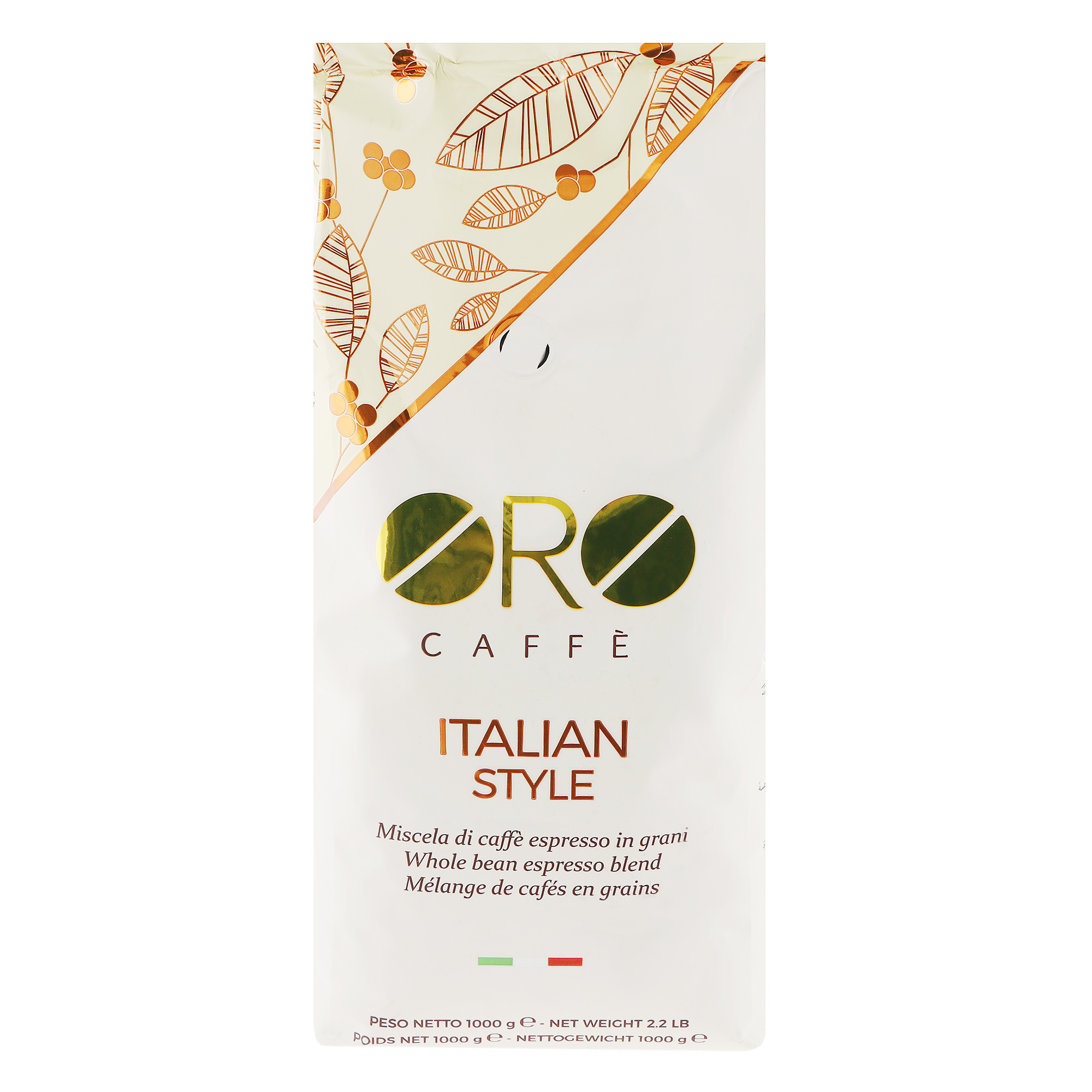 Кофе в зернах Oro Caffee Italian Style 1 кг