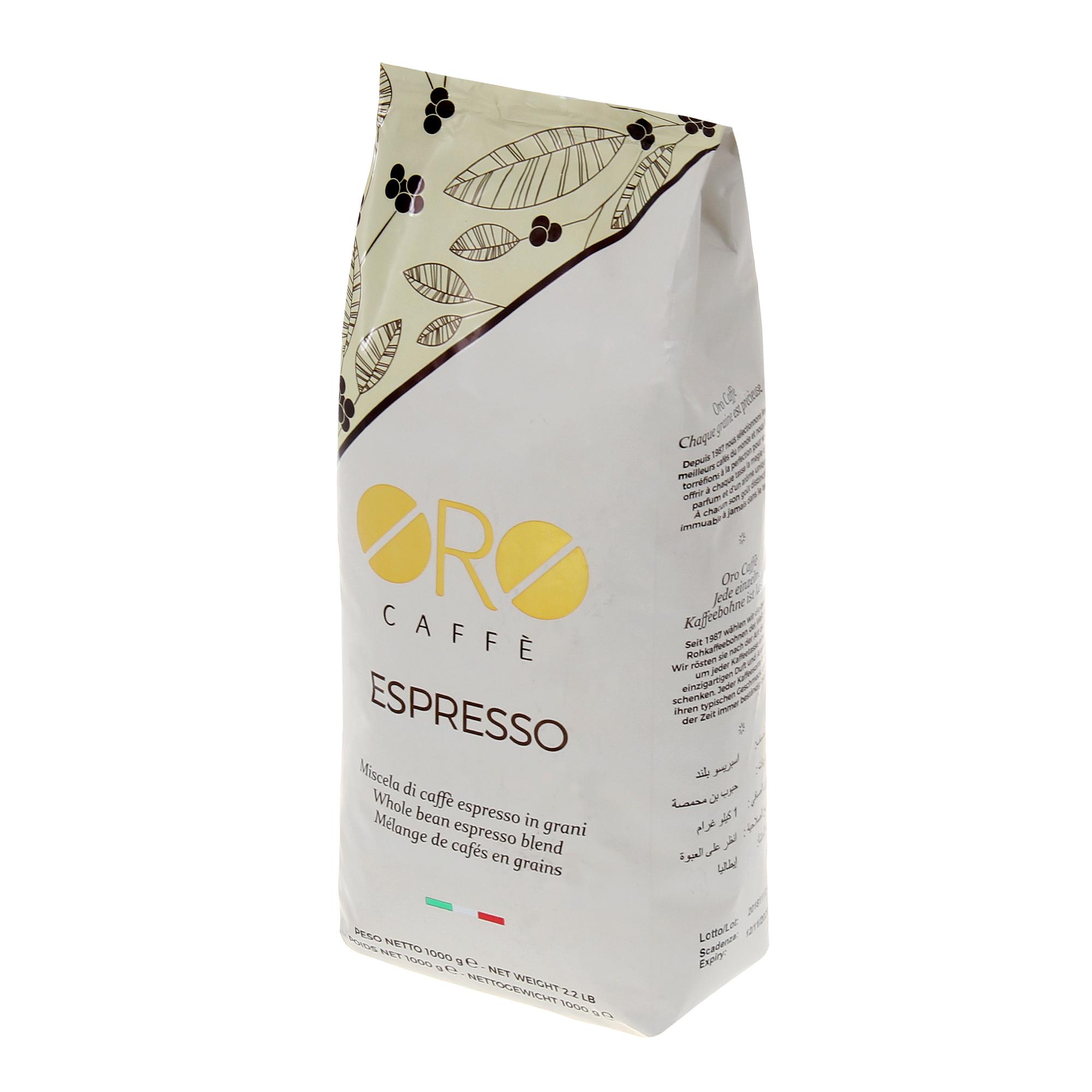 Кофе в зернах Oro Caffe Espresso 1 кг кофе в зернах oro caffe cremoso 1 кг
