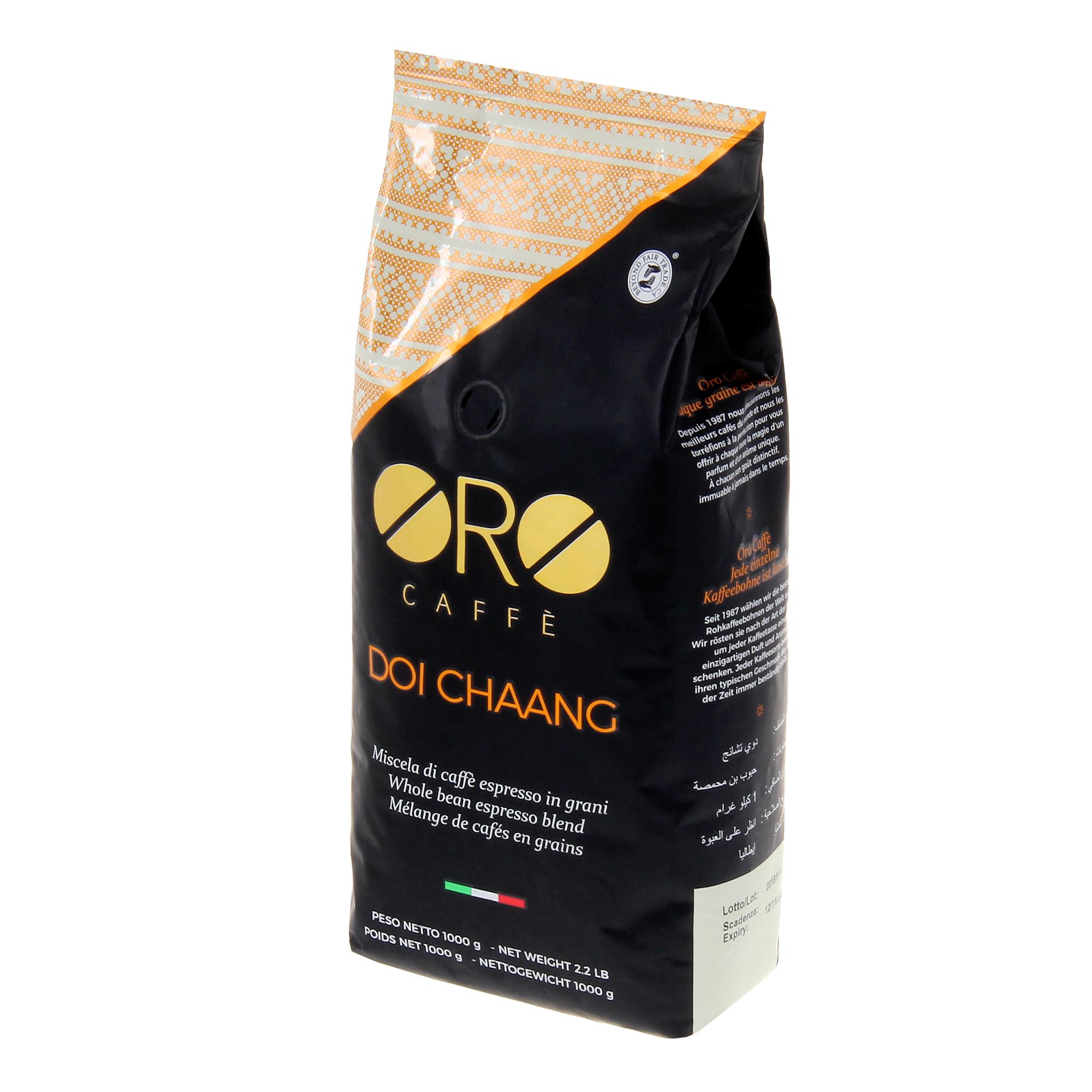Кофе в зернах Oro Caffe Doi Chaang 1 кг кофе в зернах oro caffe cremoso 1 кг