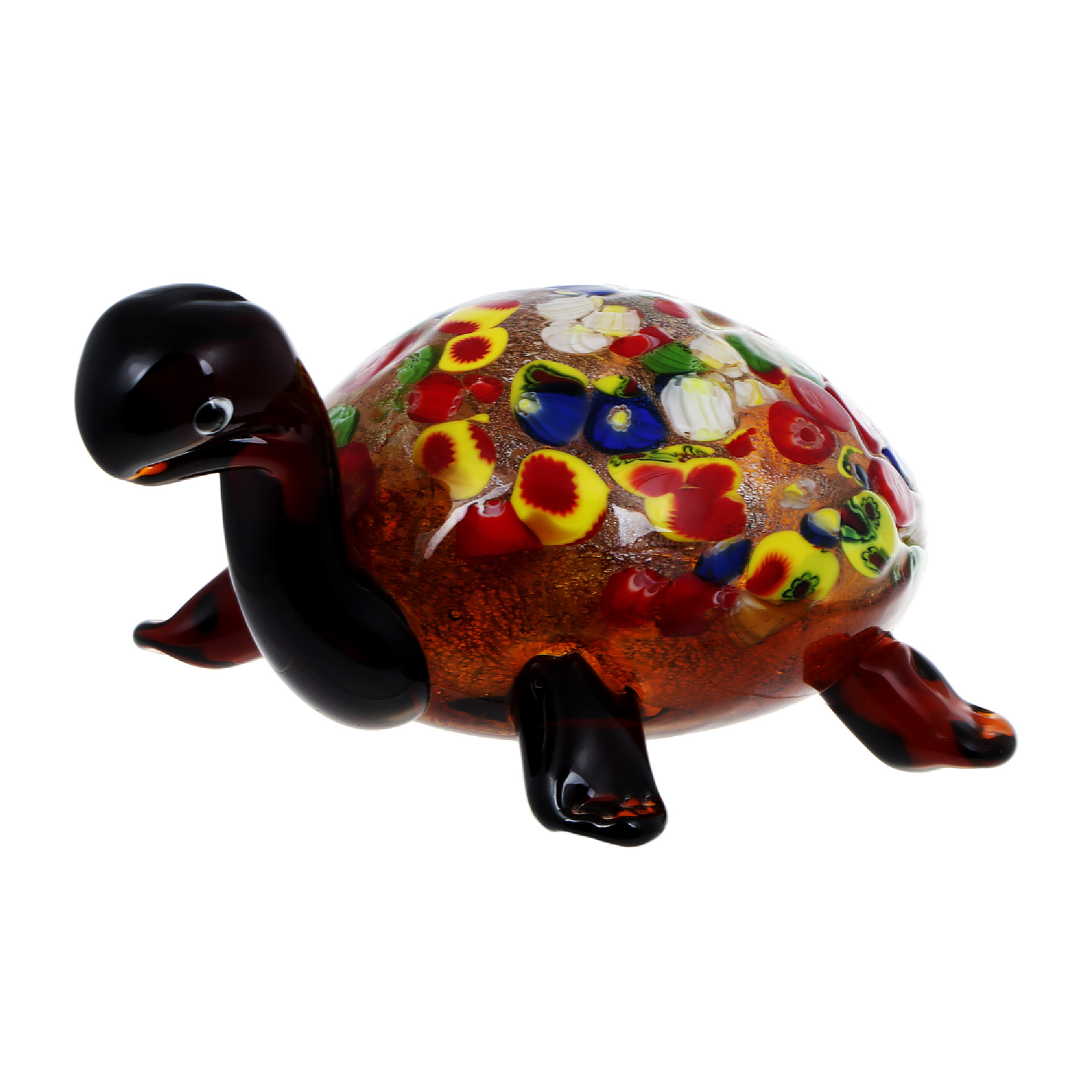 Фигурка Art glass черепаха 18х9 см фигурка art glass пеликан 22х26 см