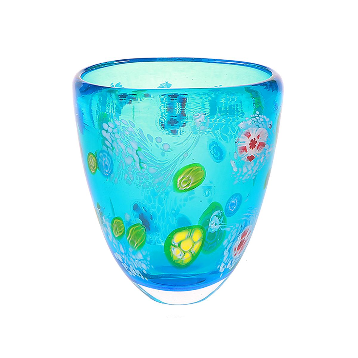 Ваза Art glass Водопад 18 см