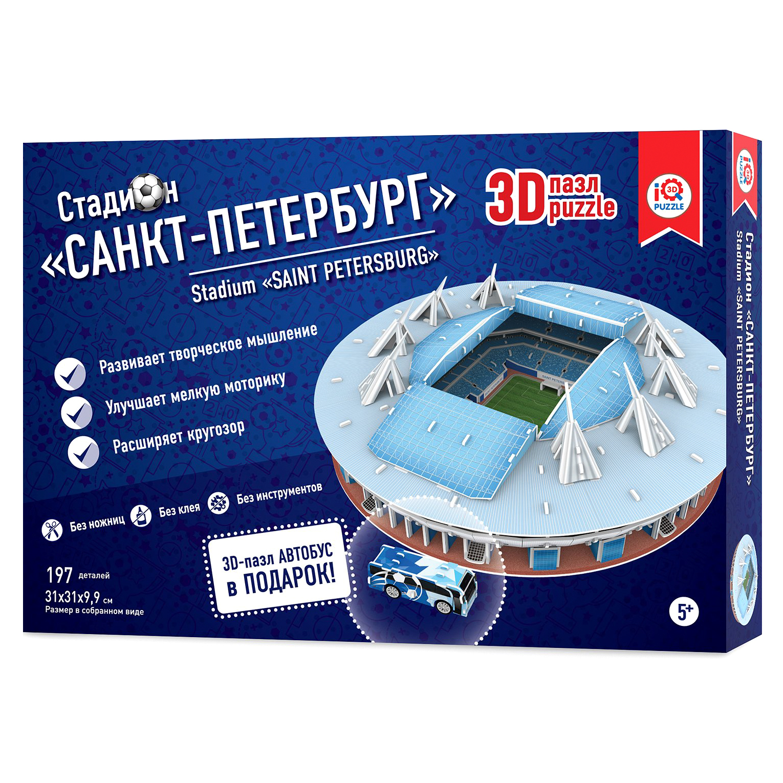 Пазл 3D IQ 3D PUZZLE Зенит Арена СПб 16551