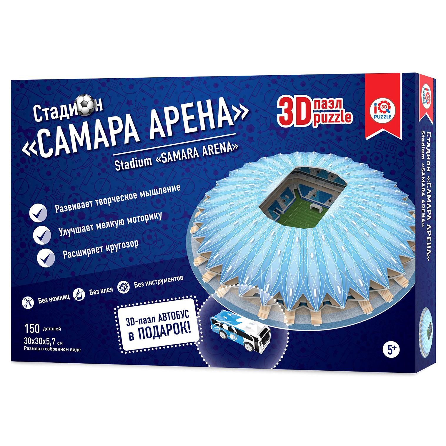 Пазл 3D IQ 3D PUZZLE Самара Арена 16558