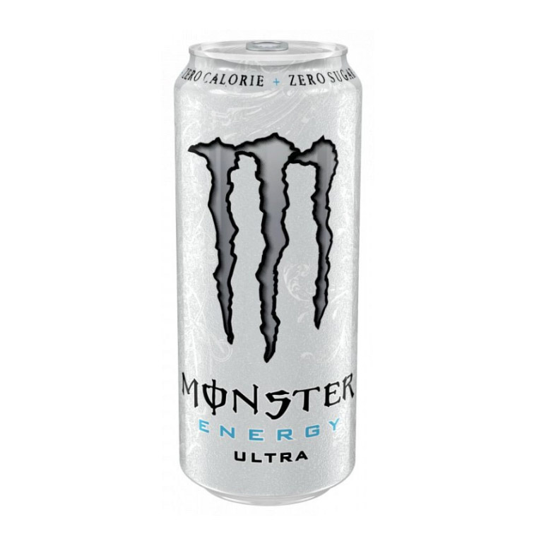 Напиток энергетический Black Monster Energy Ultra 0,5 л