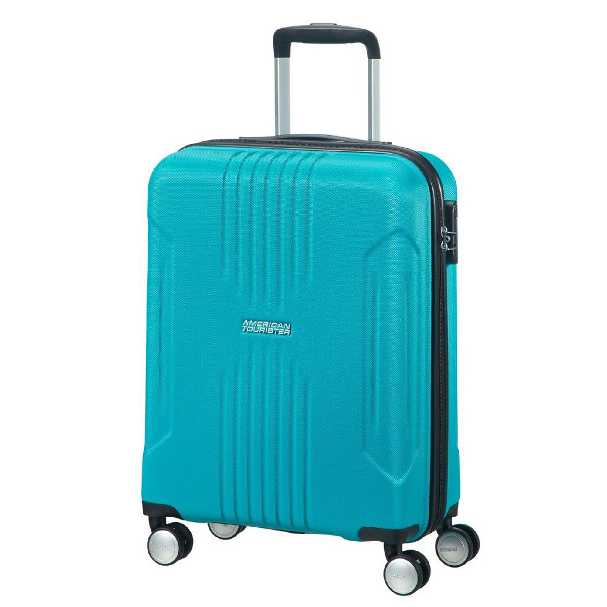 Чемодан American Tourister Spinner синий M american tourister american tourister litewing 38g 09003