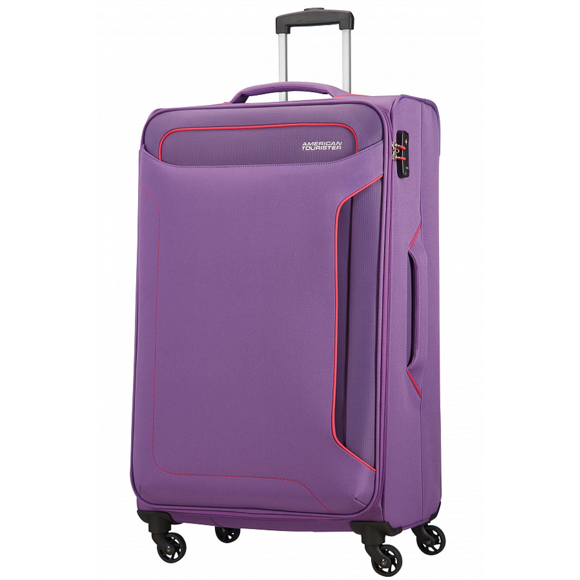 Чемодан American Tourister Holiday Heat фиолетовый L