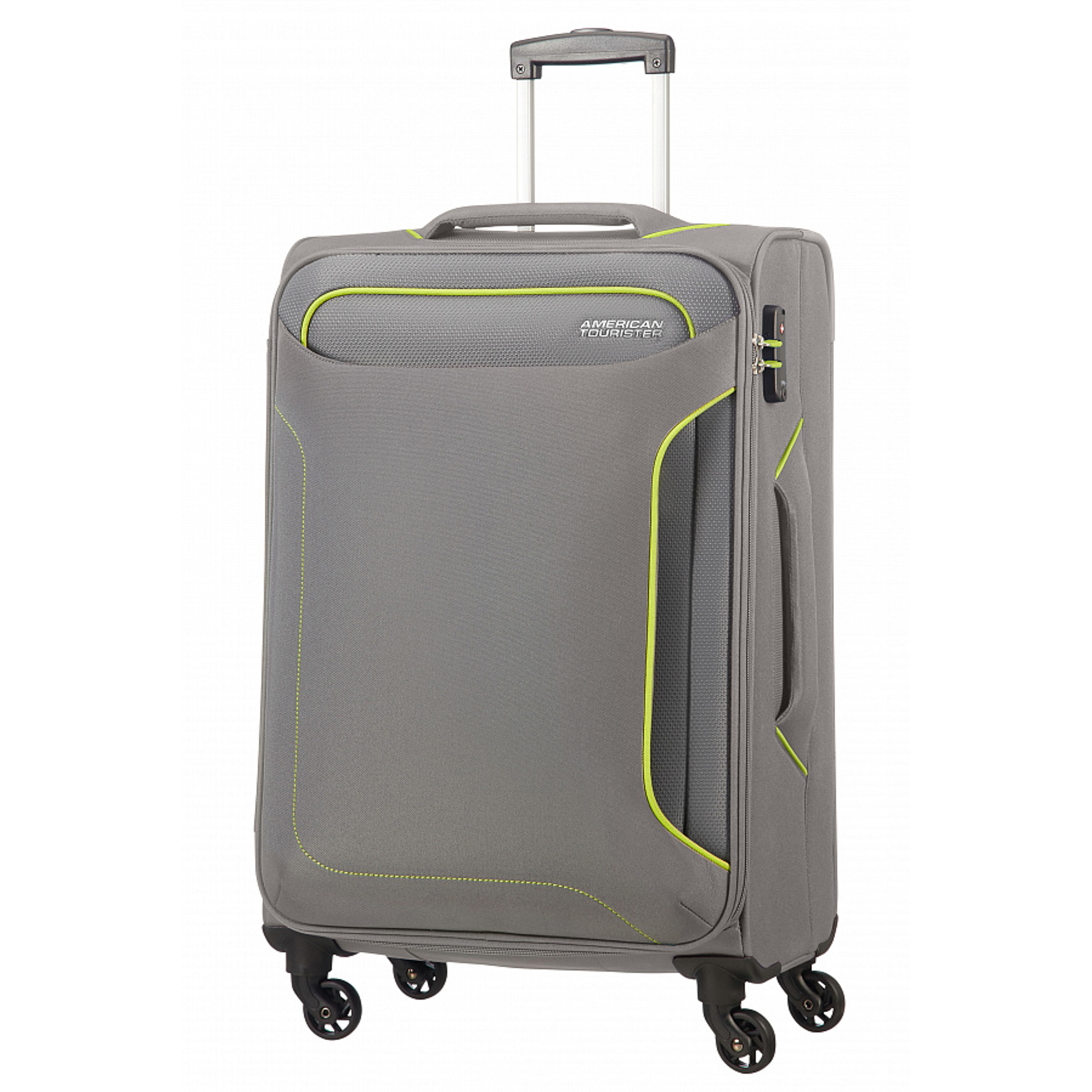 Чемодан American Tourister Holiday Heat серый M