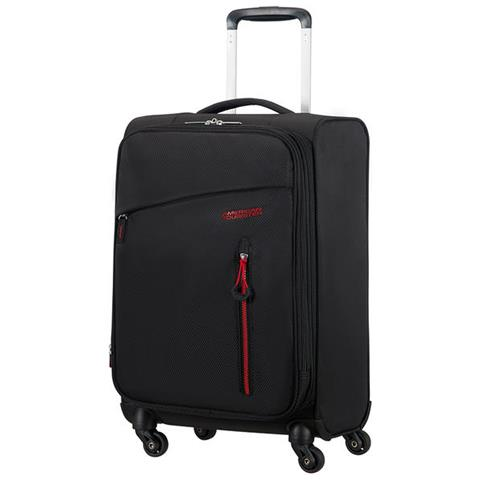 Чемодан American Tourister litewing upright 55/20 volcblack S