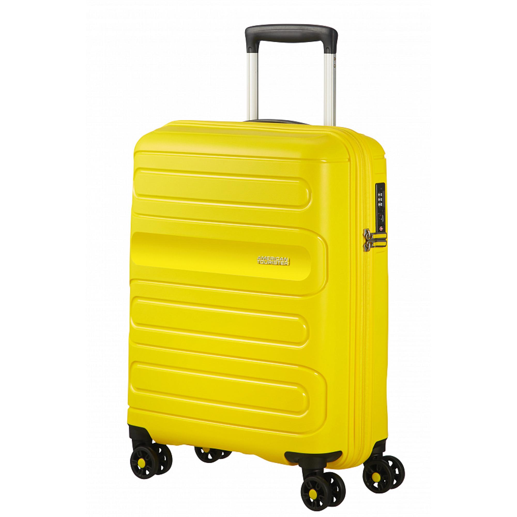 Чемодан American Tourister Sunside желтый S недорого
