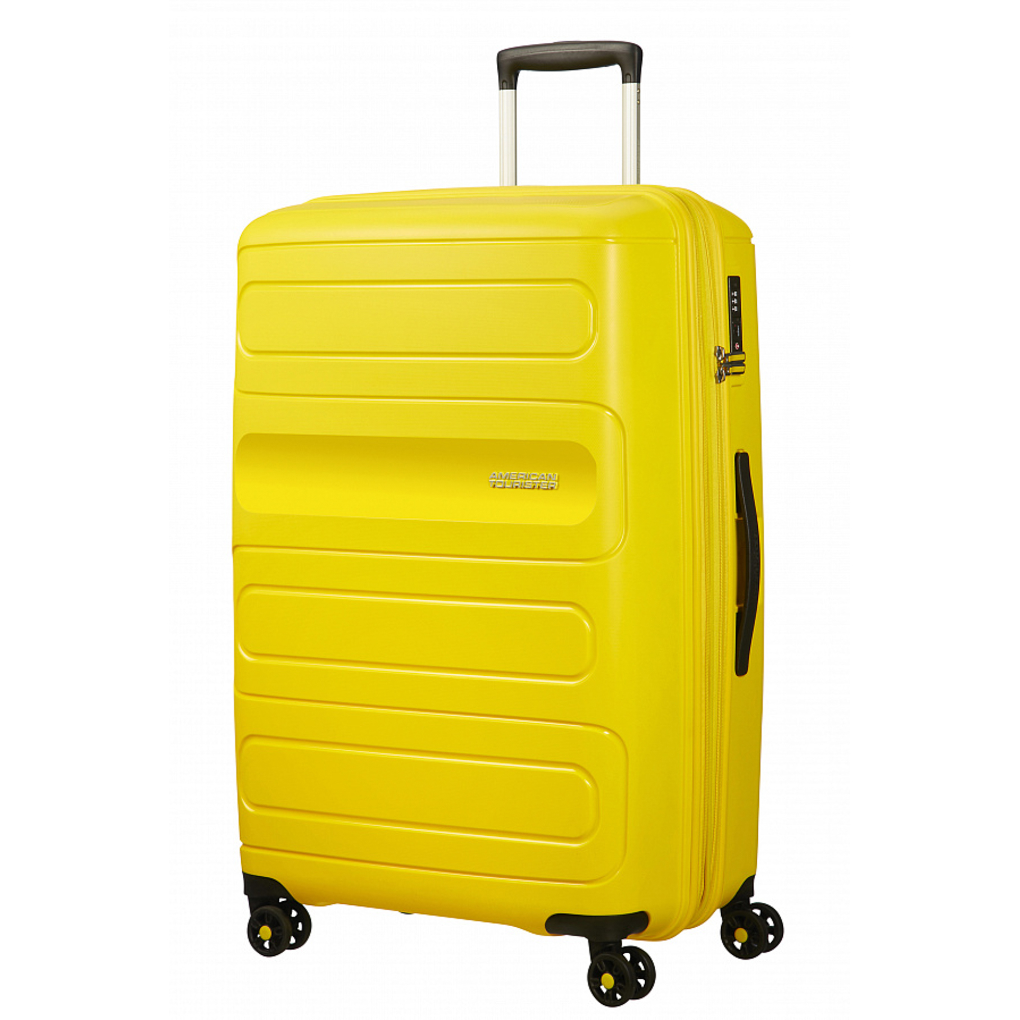 Чемодан American Tourister Sunside желтый L american tourister american tourister litewing 38g 09003