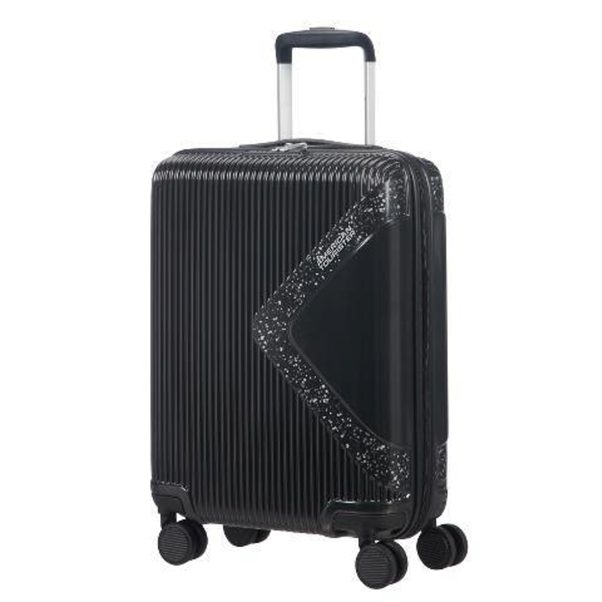 Чемодан American Tourister Modern dream черный с блеском S