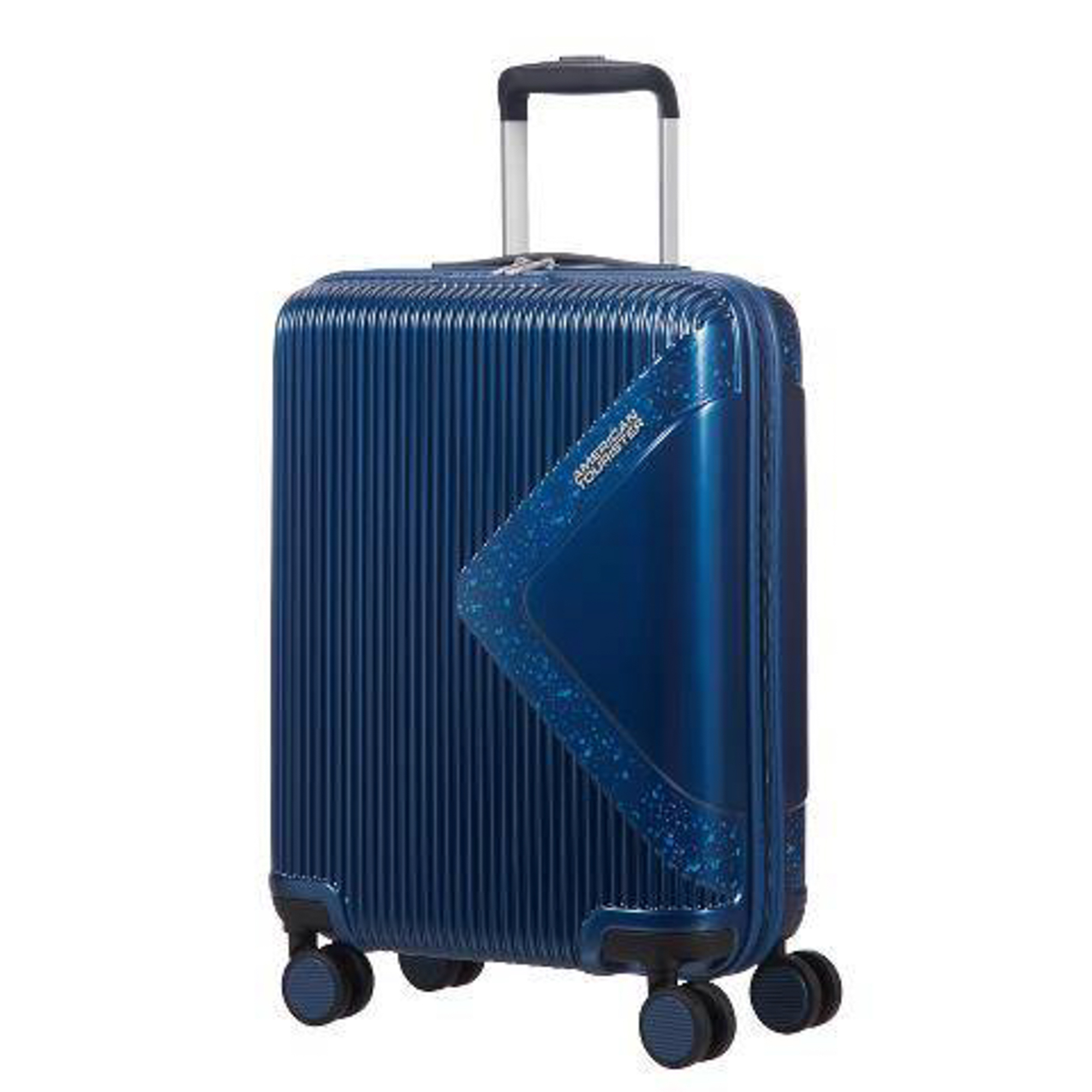Чемодан American Tourister Modern dream синий с блеском S