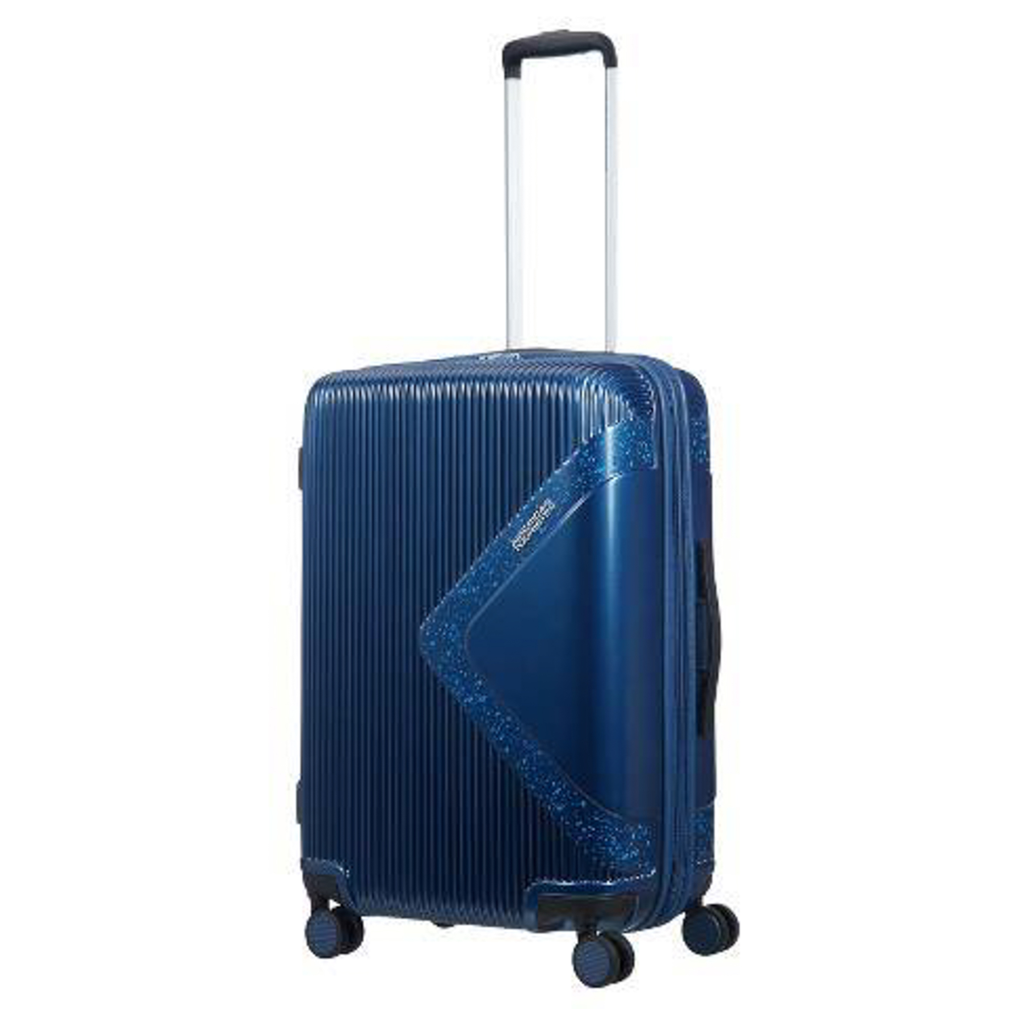 Чемодан American Tourister Modern dream синий с блеском M.