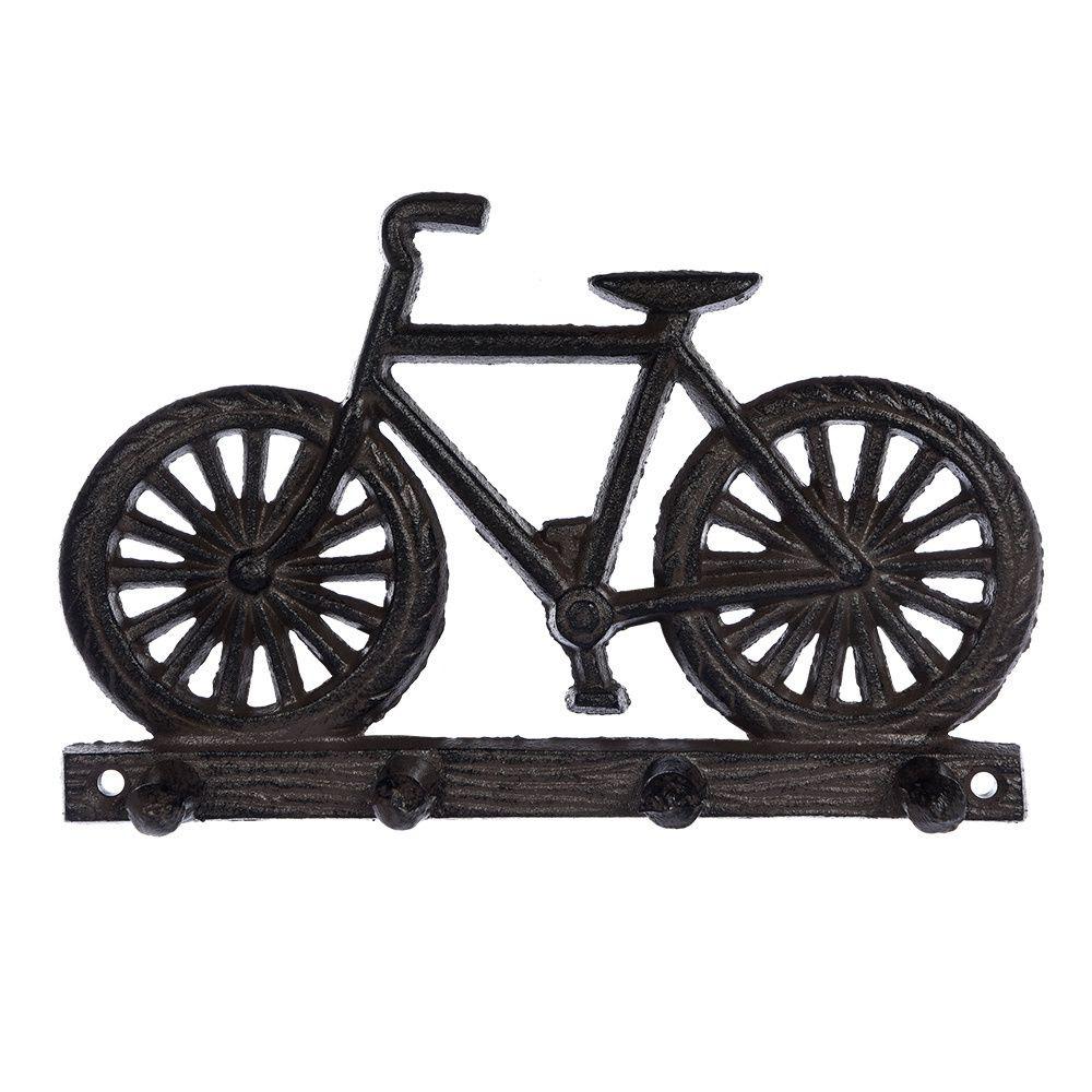 Вешалка Blumen Haus Велосипед 4 крючка blumen haus вешалка 3 крючка ранчо декоративная 16 25 3 см